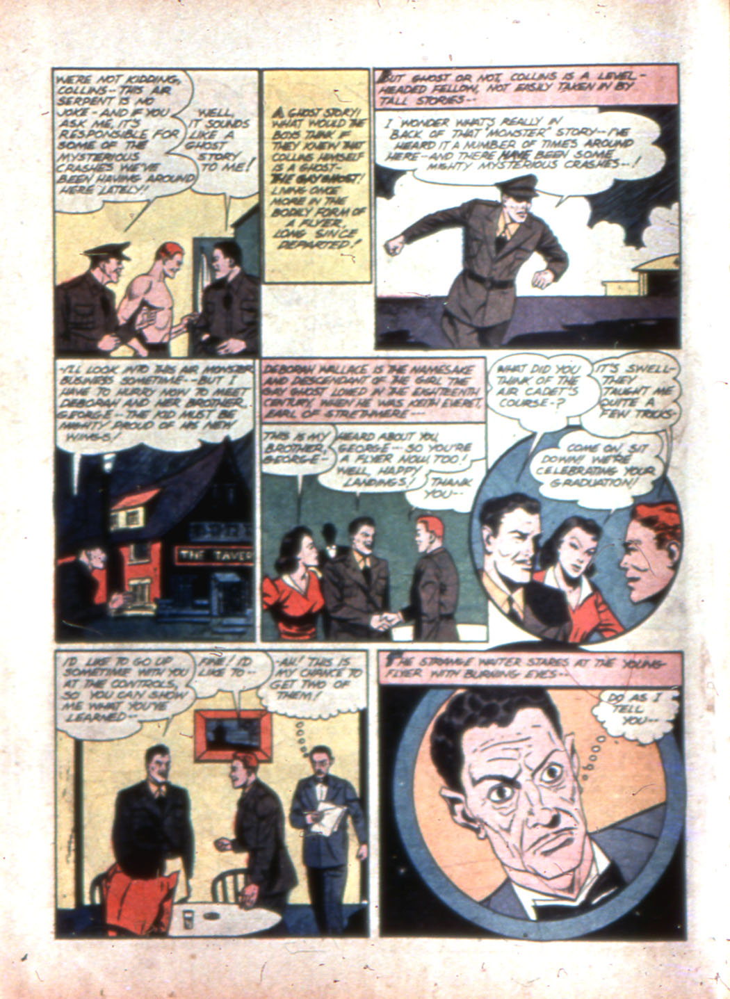 Read online Sensation (Mystery) Comics comic -  Issue #11 - 38