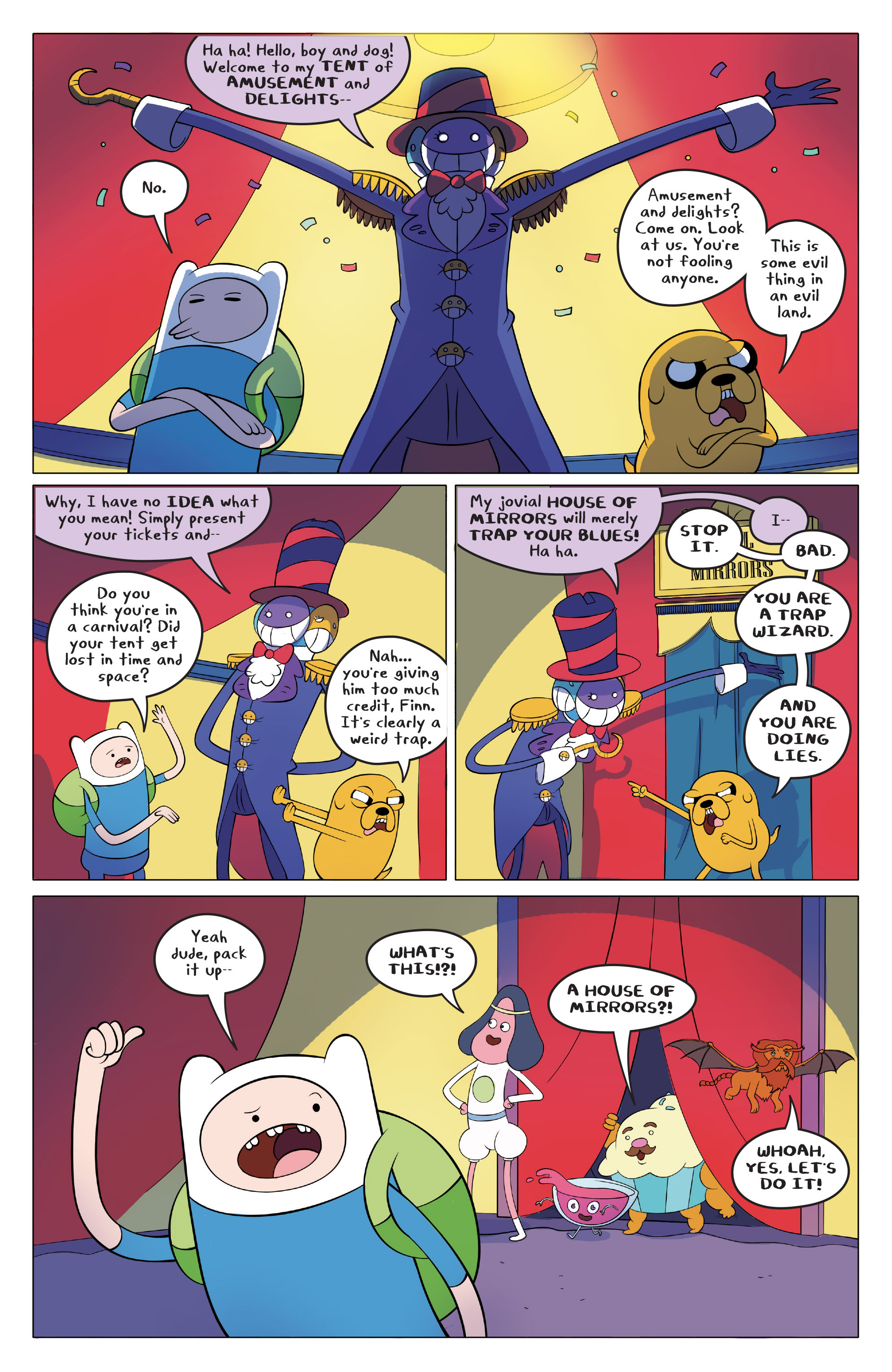 Read online Adventure Time comic -  Issue #45 - 5