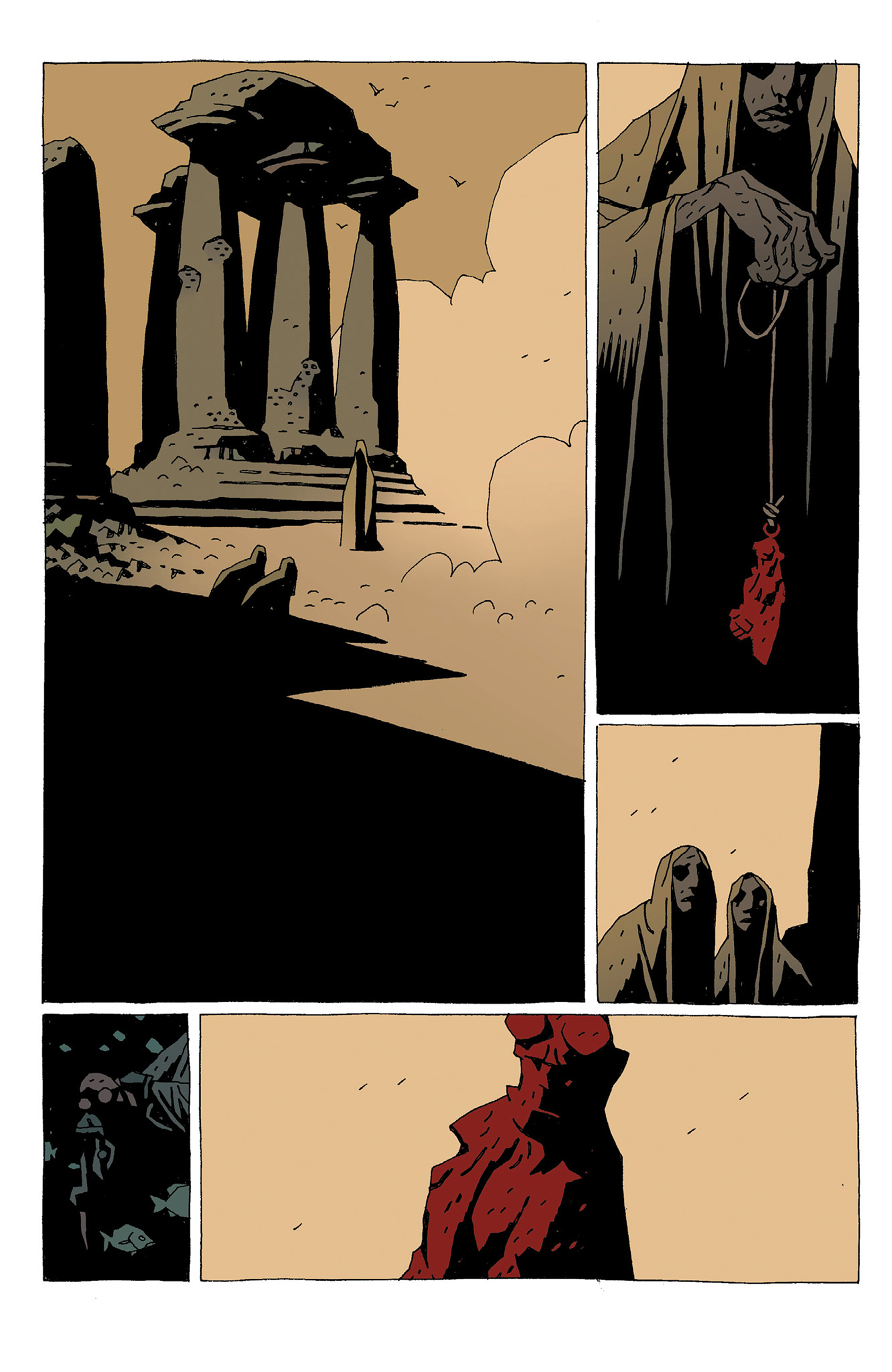 Read online Hellboy: Strange Places comic -  Issue # TPB - 134