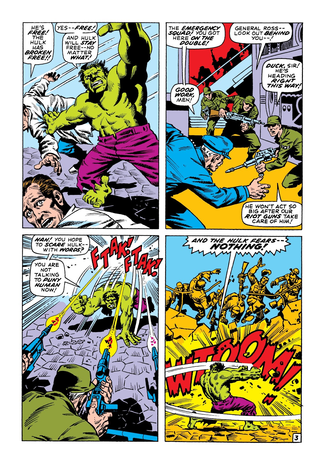 Read online Marvel Masterworks: The Incredible Hulk comic -  Issue # TPB 6 (Part 3) - 17