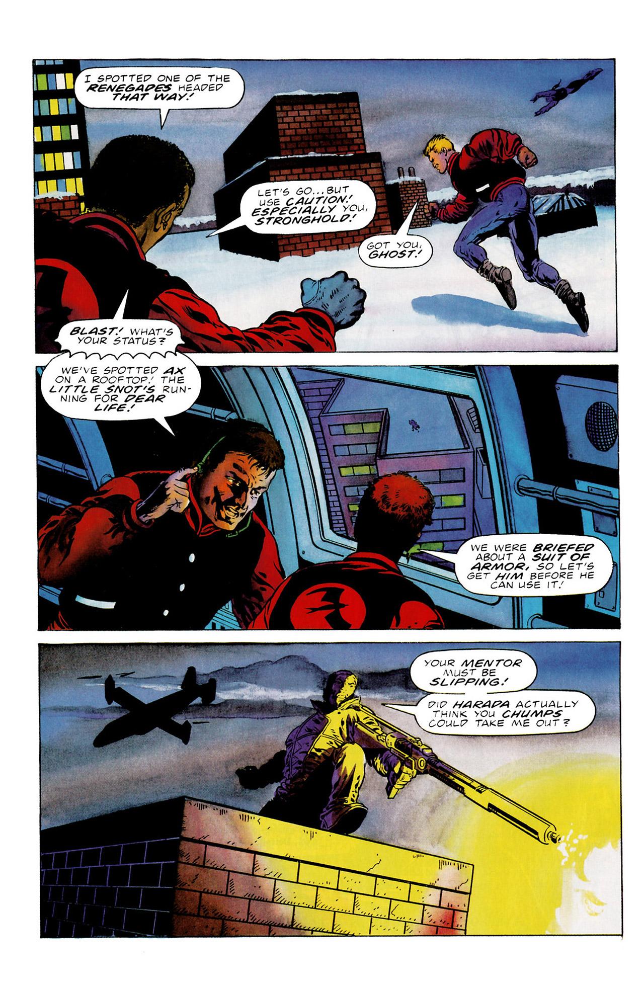 Read online Harbinger (1992) comic -  Issue #16 - 13