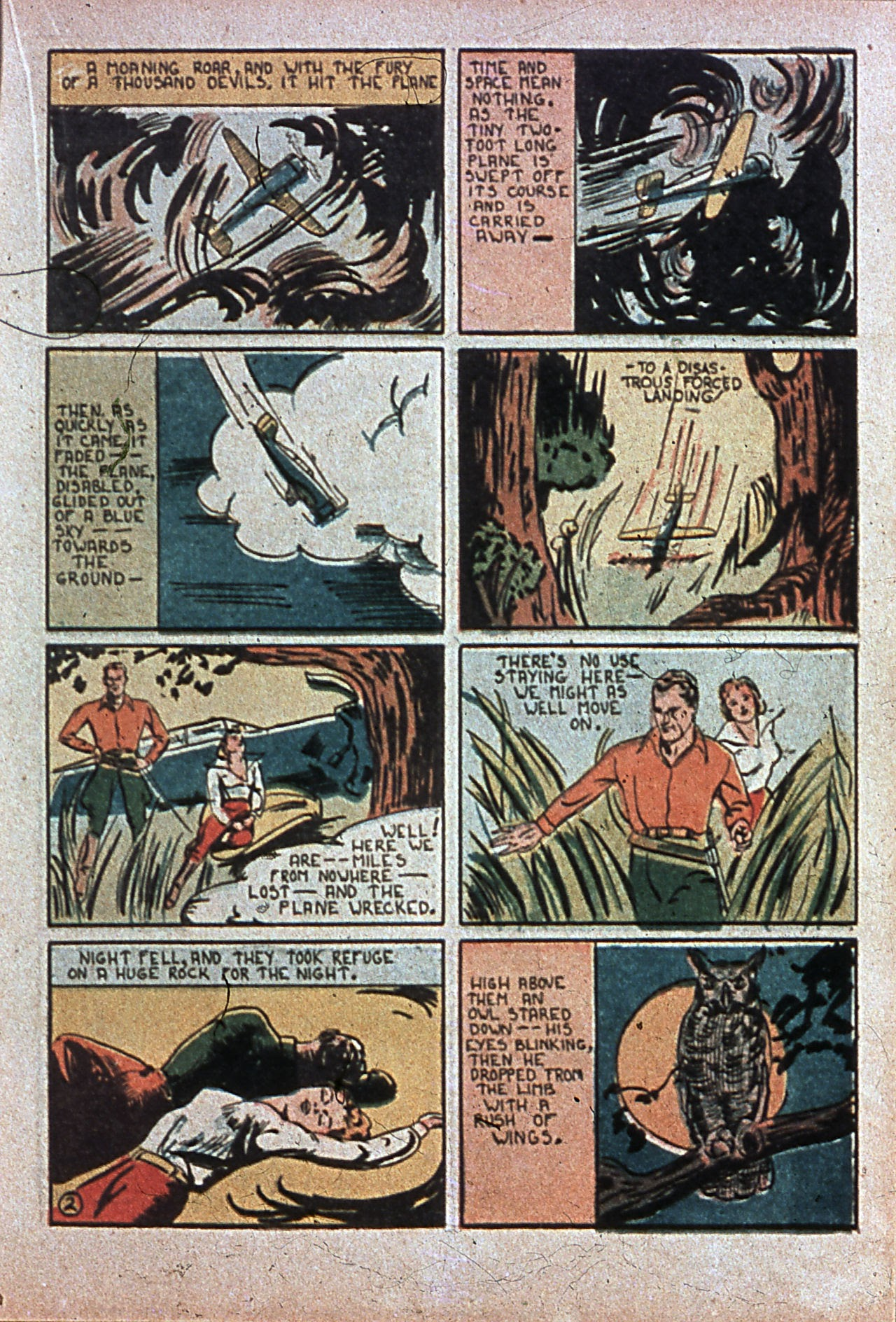 Read online Amazing Man Comics comic -  Issue #7 - 38