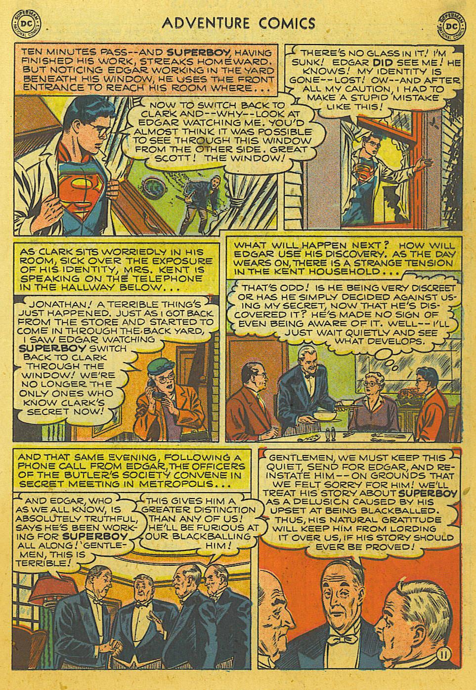 Read online Adventure Comics (1938) comic -  Issue #169 - 12
