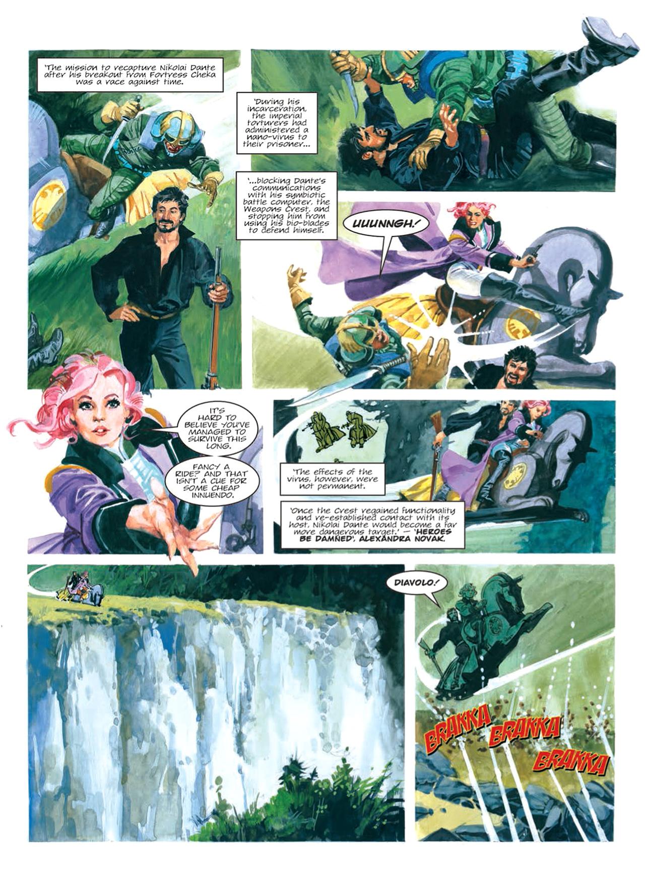 Read online Nikolai Dante comic -  Issue # TPB 9 - 105