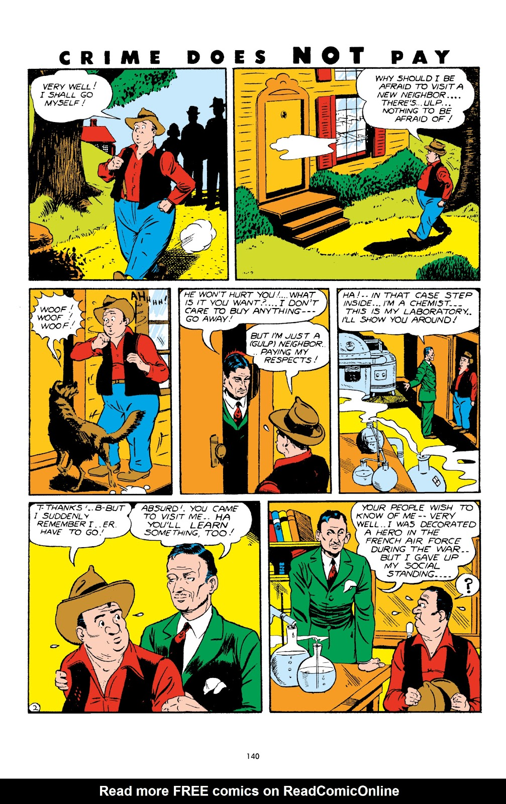 Read online Crime Does Not Pay Archives comic -  Issue # TPB 4 (Part 2) - 40