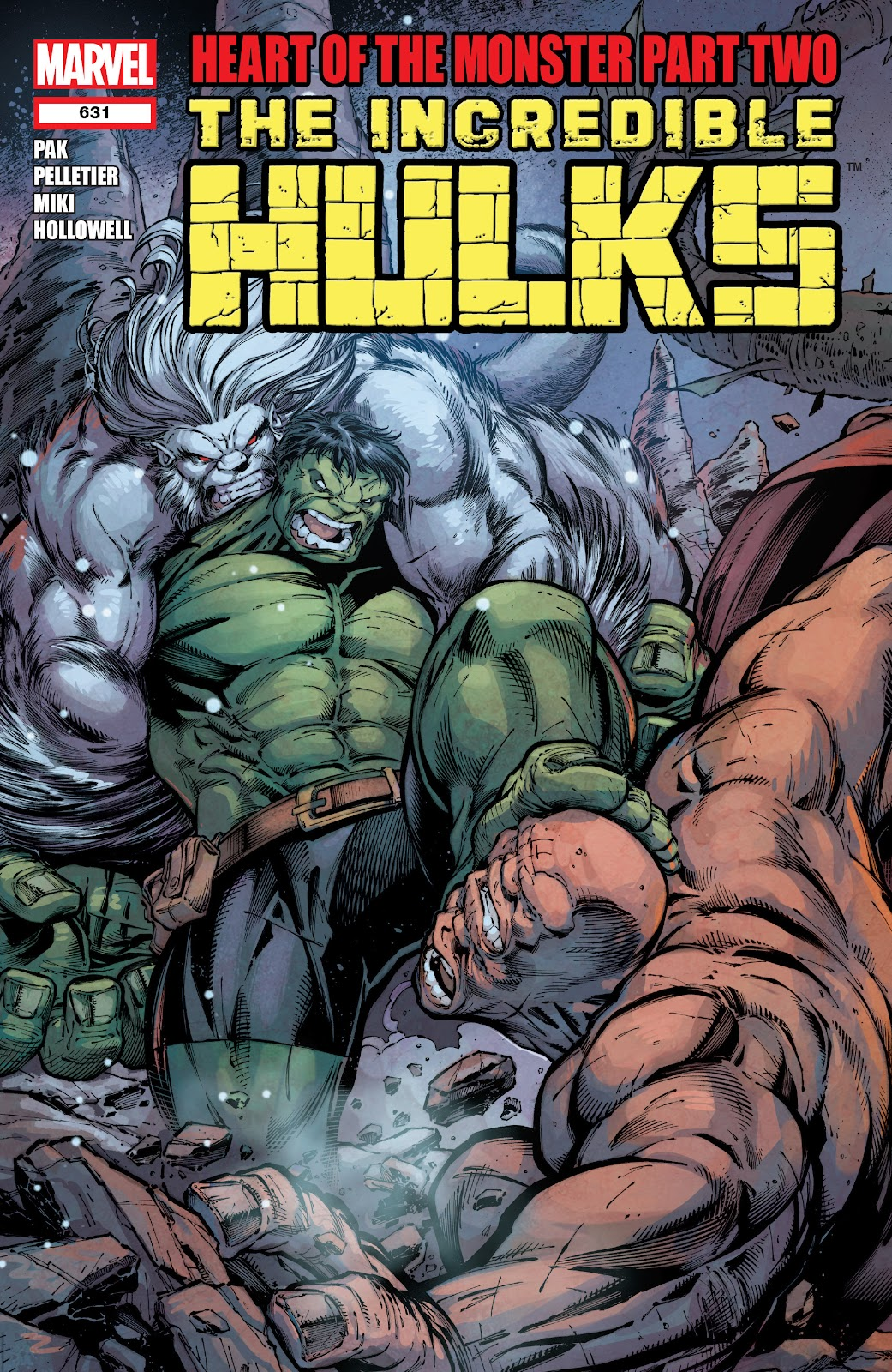 Read online Incredible Hulks (2010) comic -  Issue # _TPB Heart of the Monster - 26