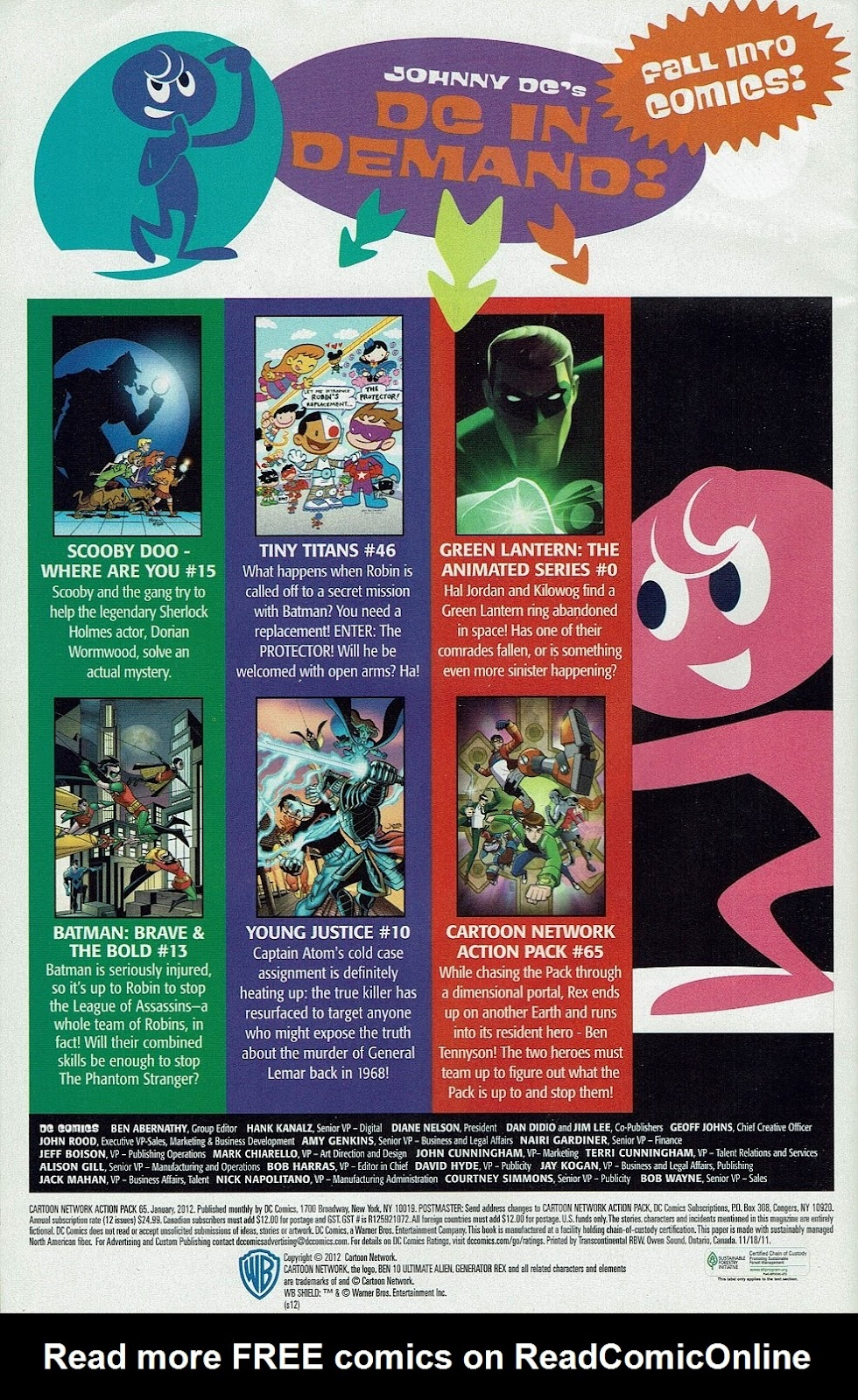 Read online Cartoon Network Action Pack comic -  Issue #65 - 34