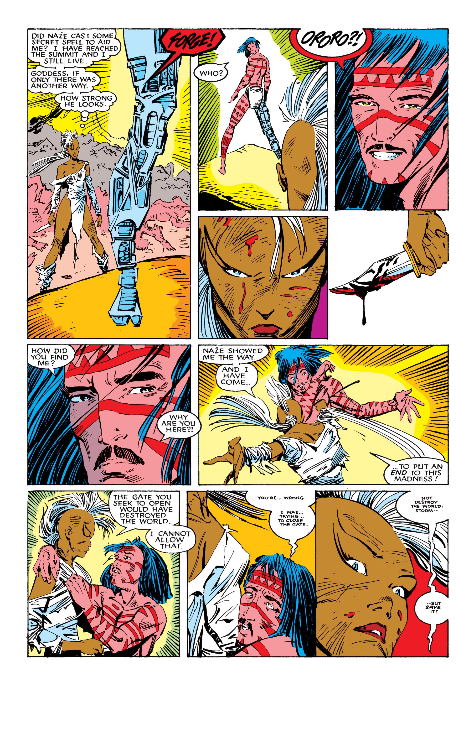 Read online Uncanny X-Men (1963) comic -  Issue #224 - 24