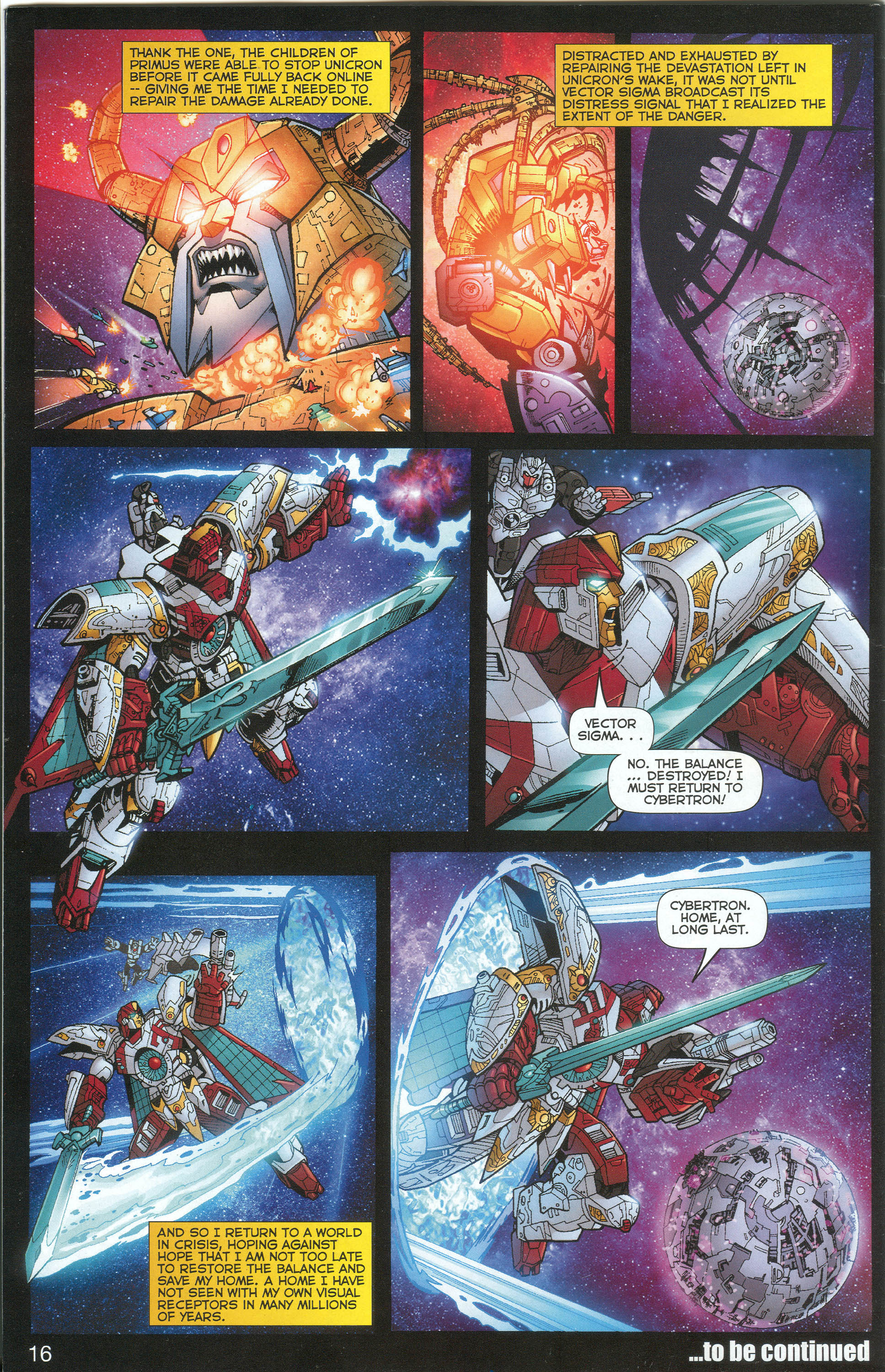 Read online Transformers: Collectors' Club comic -  Issue #1 - 16