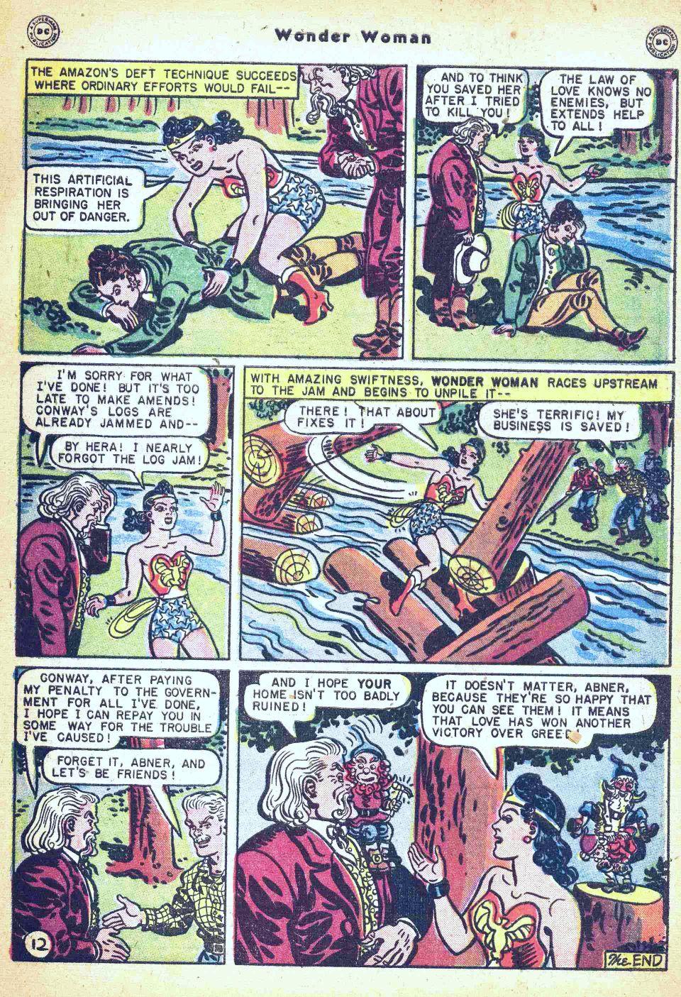 Read online Wonder Woman (1942) comic -  Issue #35 - 49