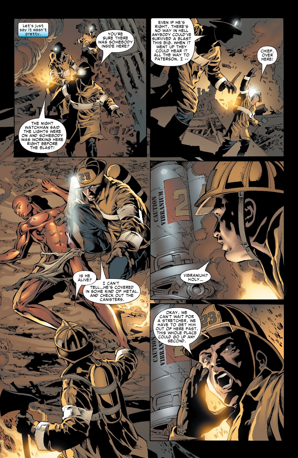The Amazing Spider-Man by JMS Ultimate Collection issue TPB 3 (Part 4) - Page 1