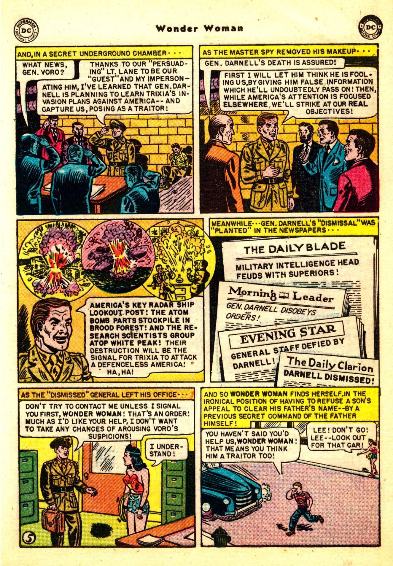 Read online Wonder Woman (1942) comic -  Issue #50 - 7