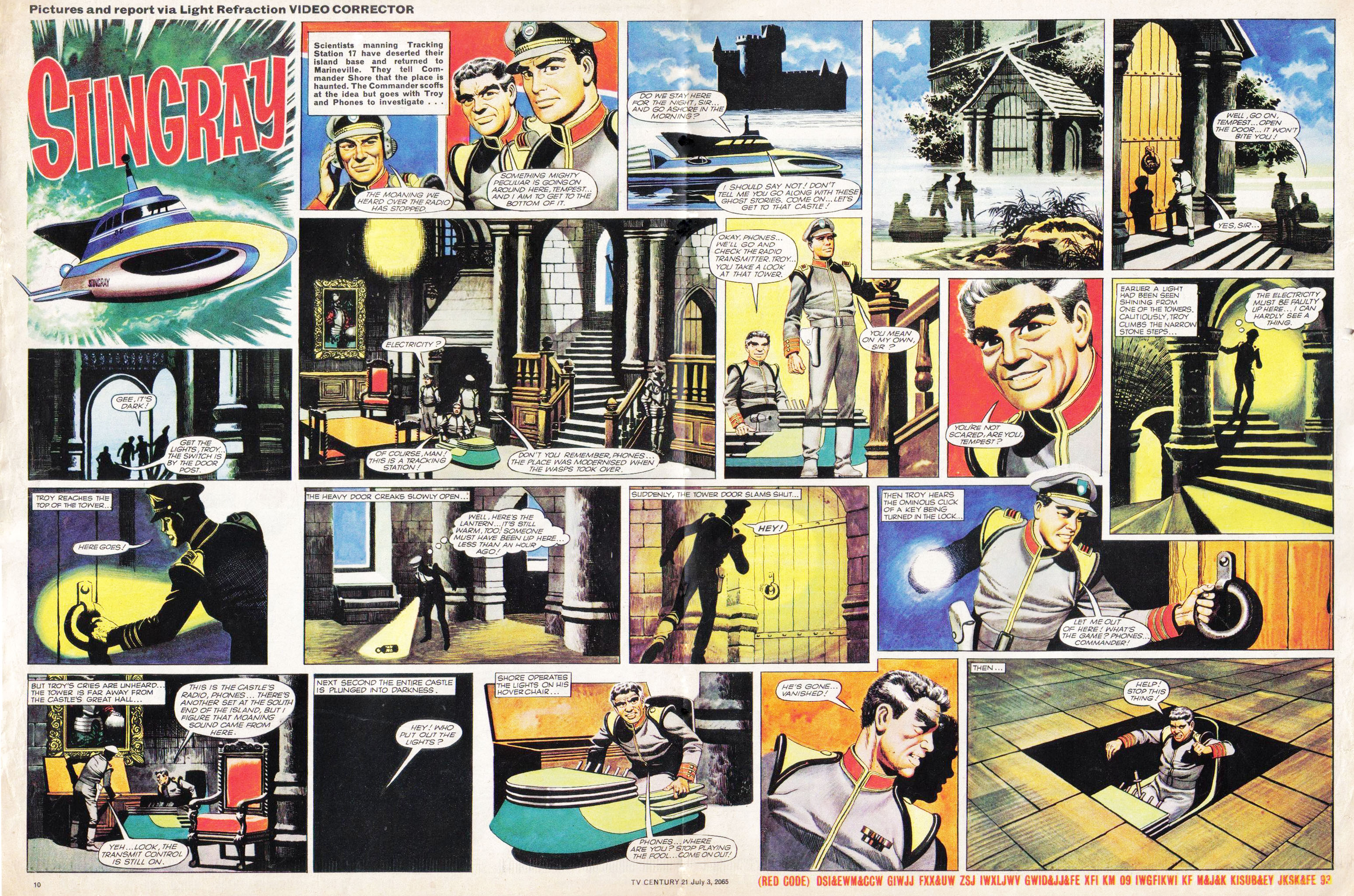 Read online TV Century 21 (TV 21) comic -  Issue #24 - 10