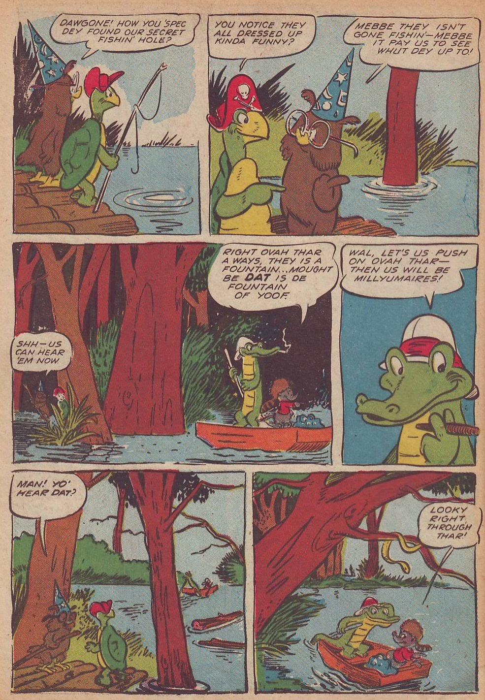 Read online Animal Comics comic -  Issue #21 - 18