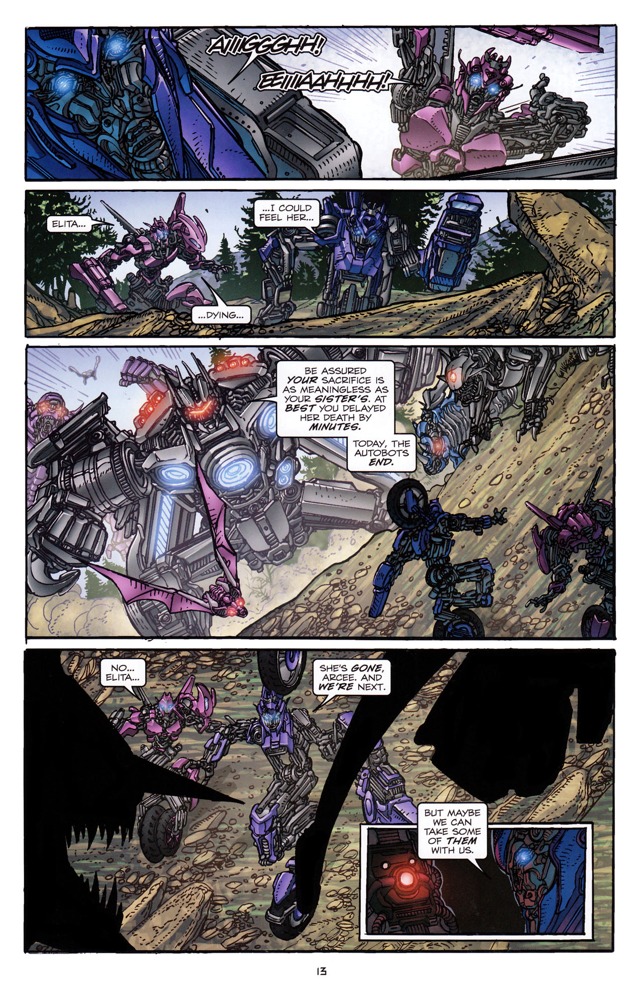 Read online Transformers: Dark of the Moon Rising Storm comic -  Issue #4 - 14
