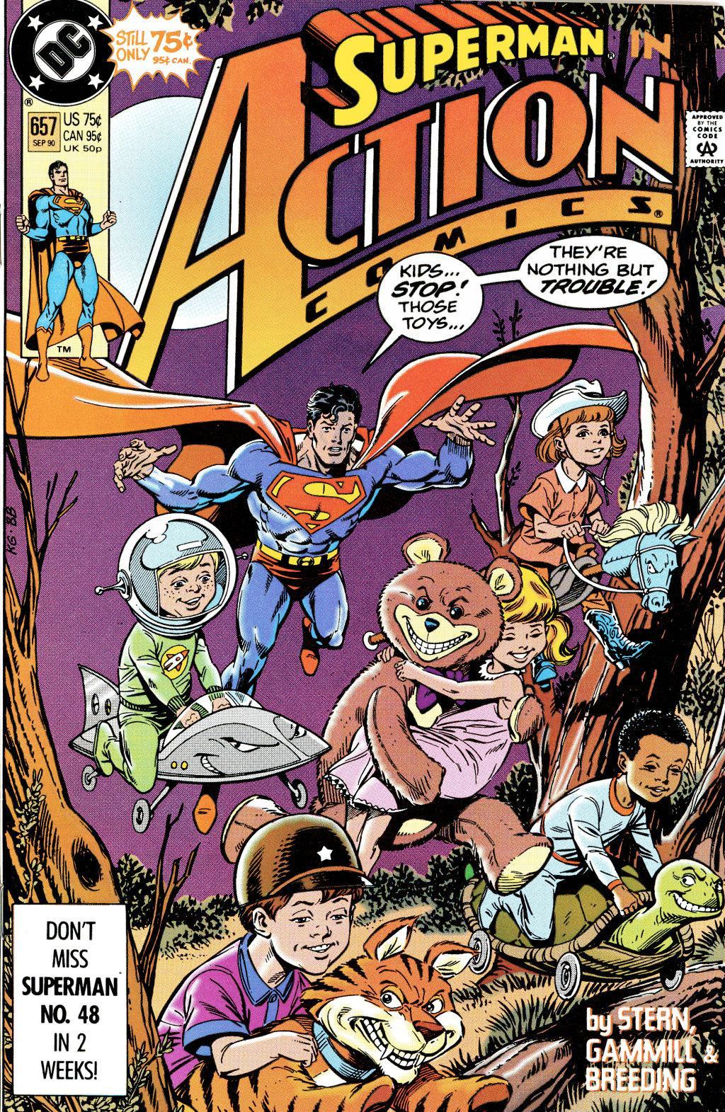 Action Comics (1938) 657 Page 1