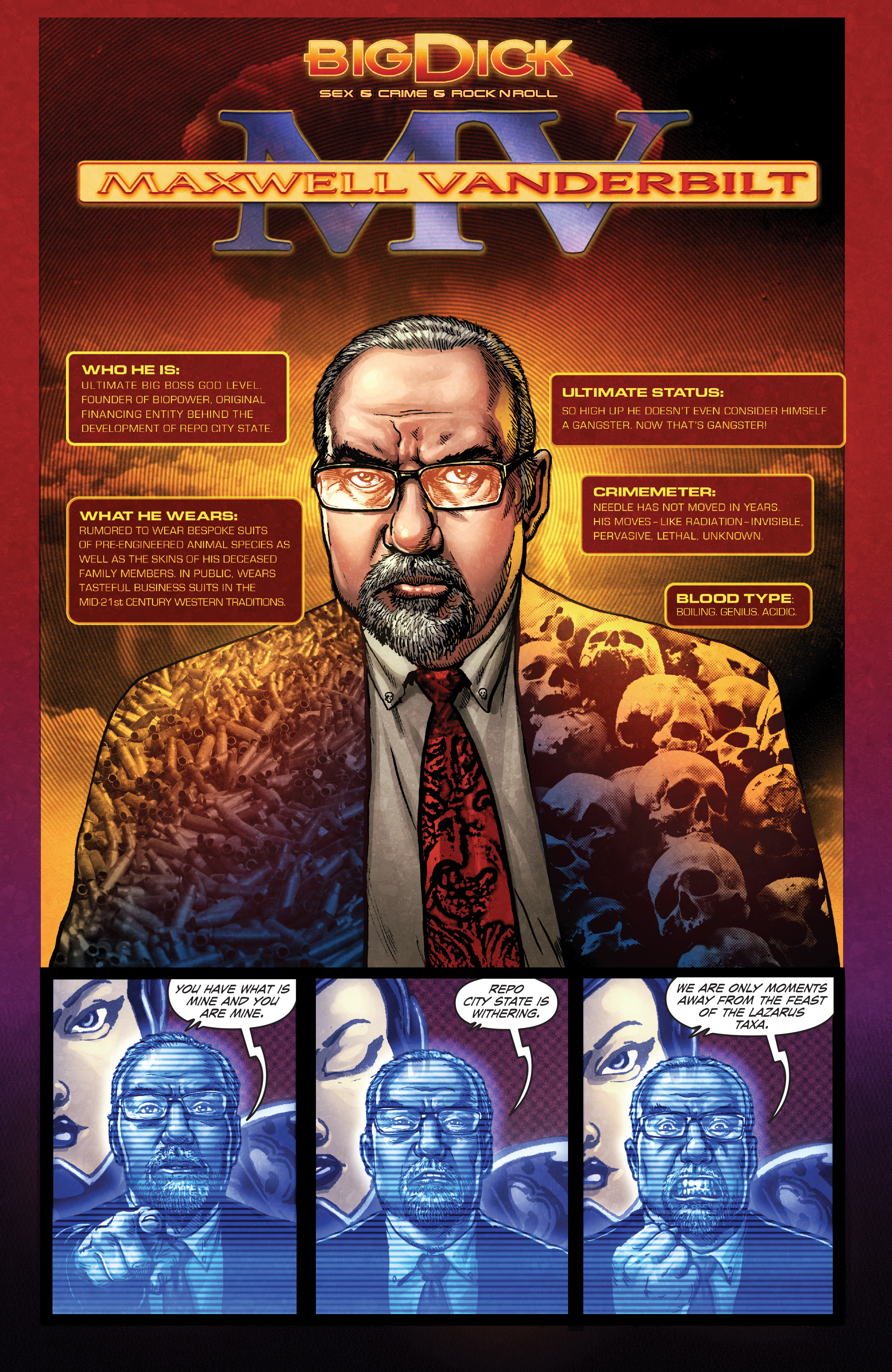 Read online Ballistic (2013) comic -  Issue #4 - 24