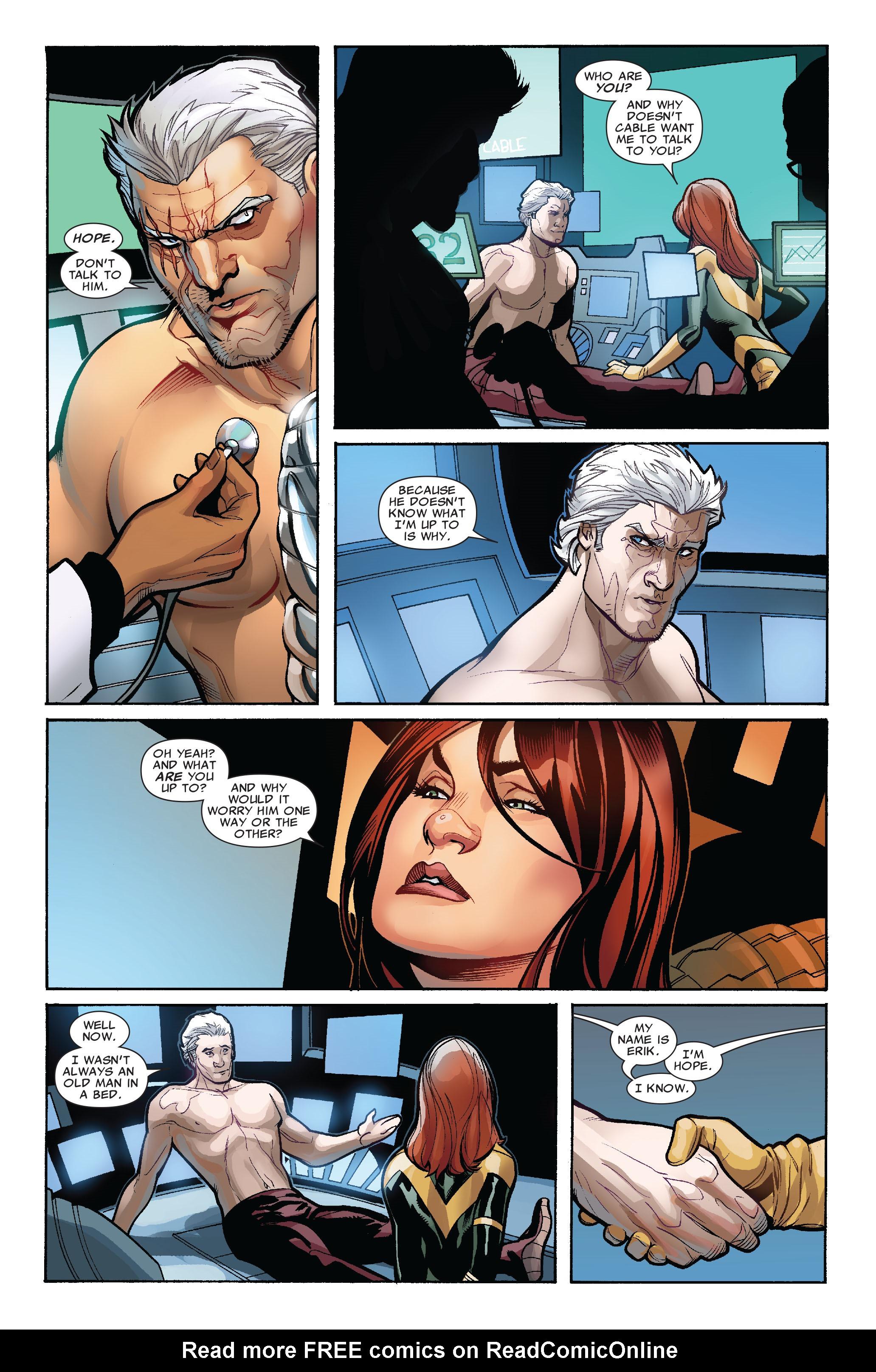 Read online Uncanny X-Men (1963) comic -  Issue #524 - 16