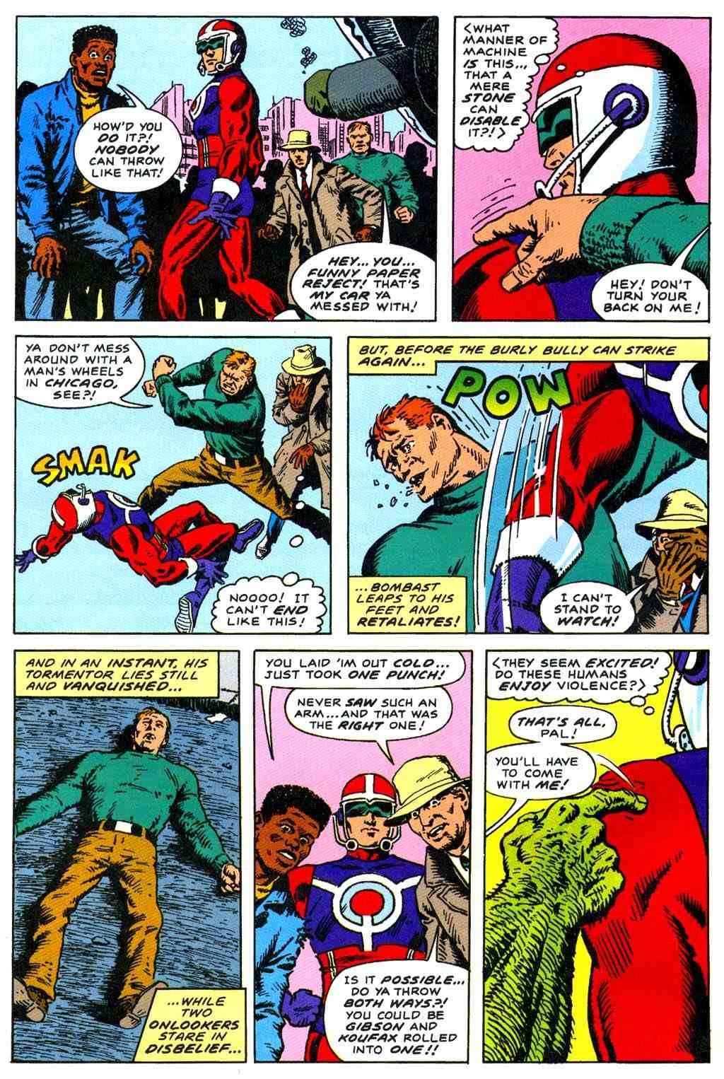 Read online Bombast comic -  Issue # Full - 14