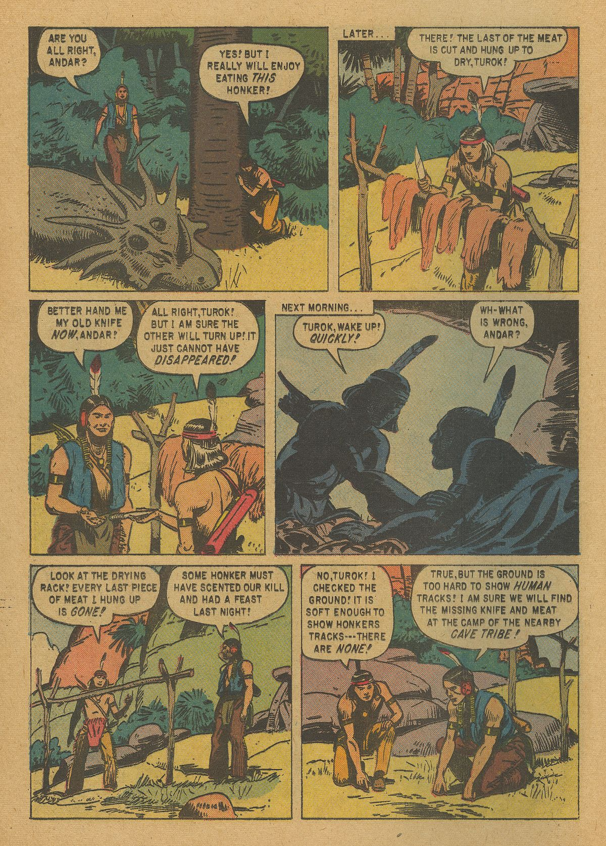 Read online Turok, Son of Stone comic -  Issue #20 - 24
