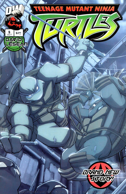 Teenage Mutant Ninja Turtles (2003) issue 5 - Page 1