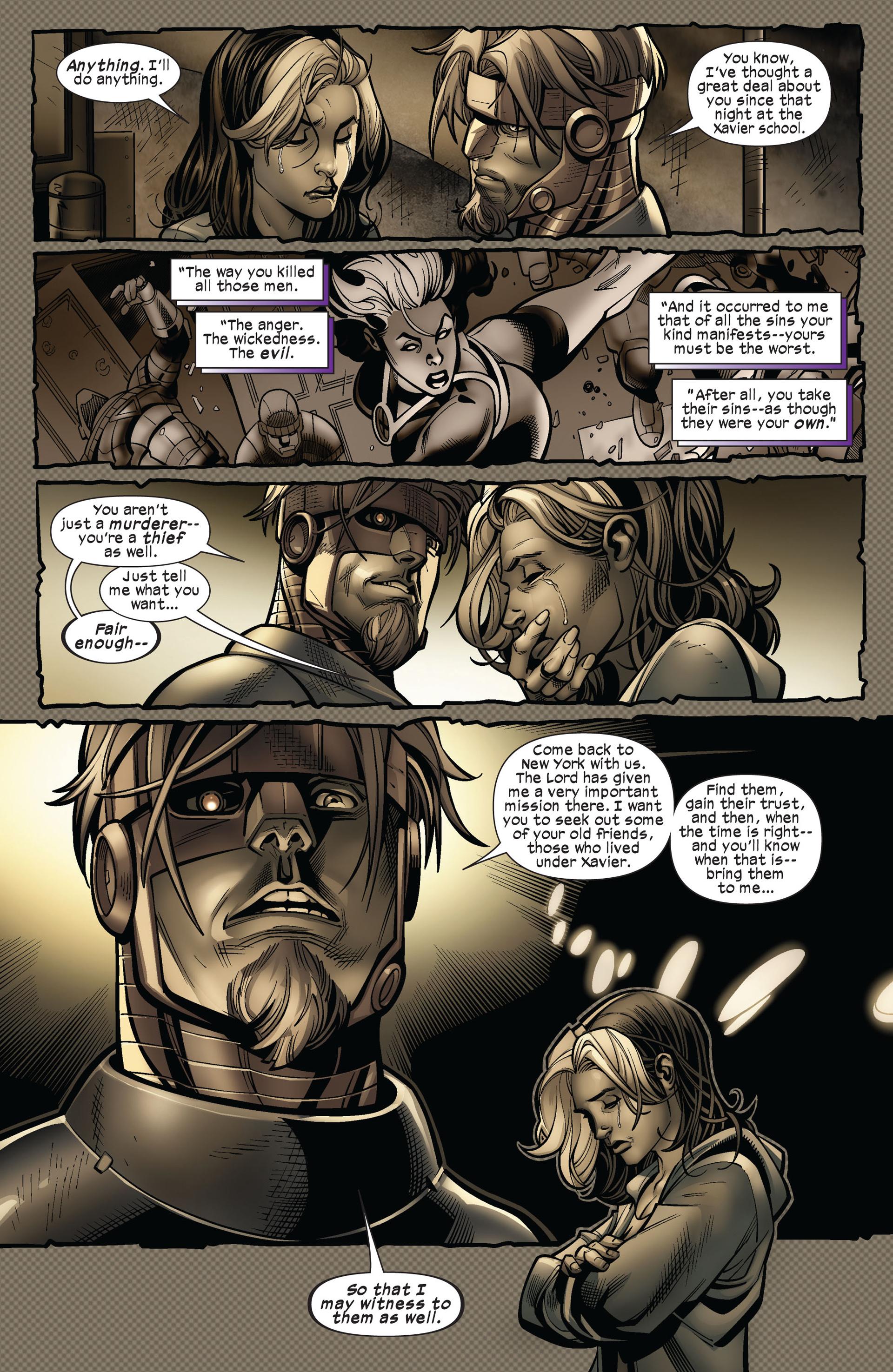 Read online Ultimate Comics X-Men comic -  Issue #5 - 15
