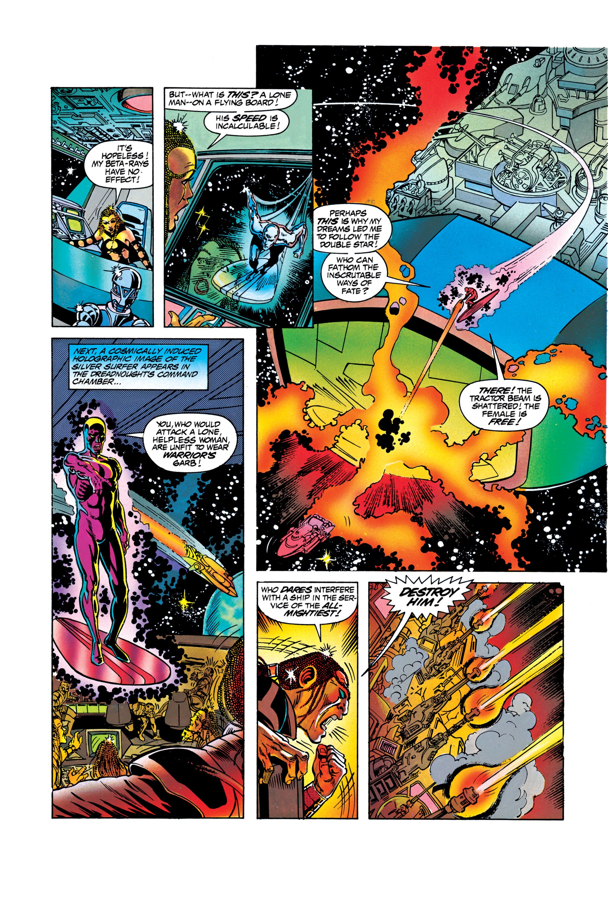 Read online Silver Surfer: Parable comic -  Issue # TPB - 95