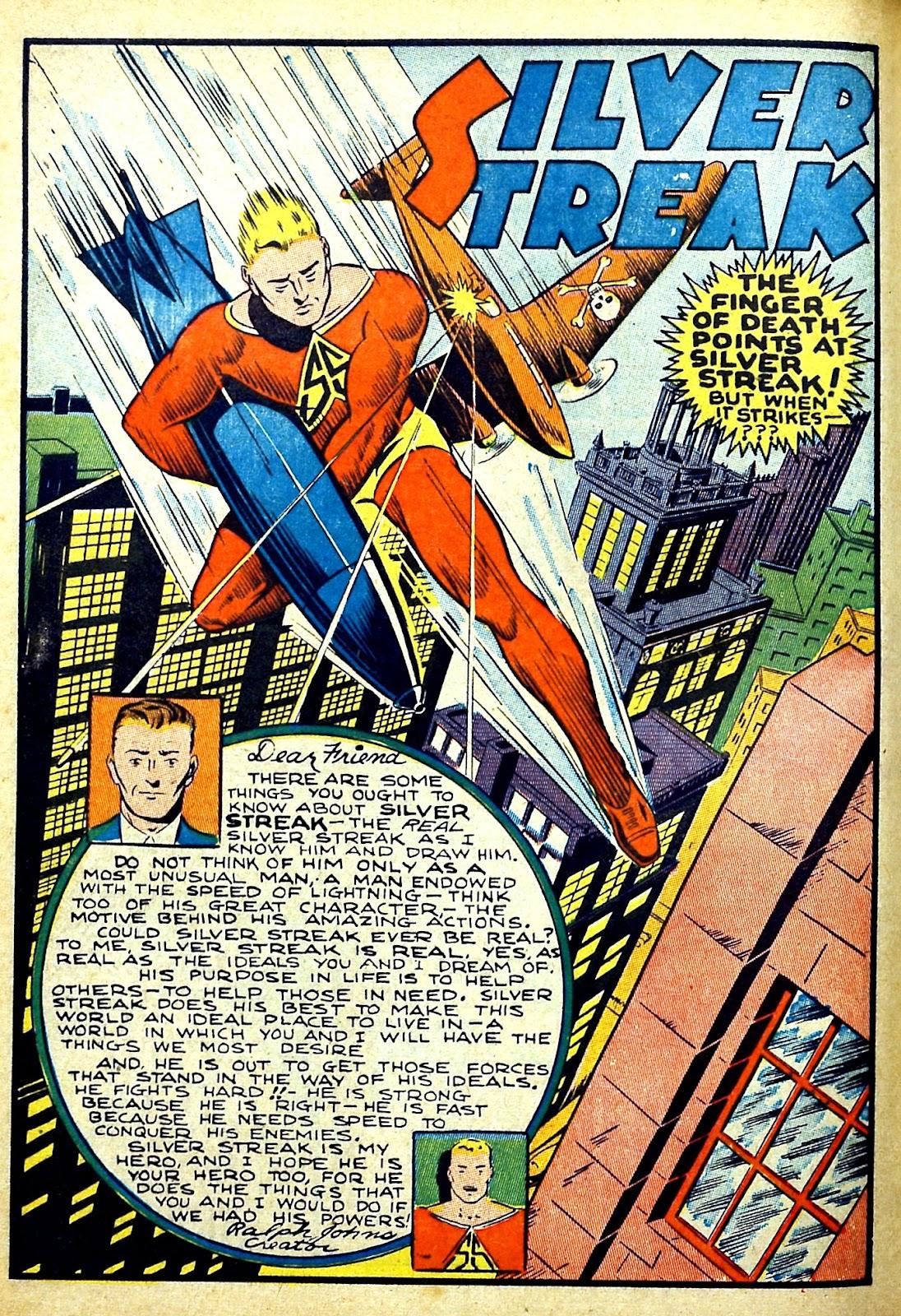 Read online Silver Streak Comics comic -  Issue #22 - 14