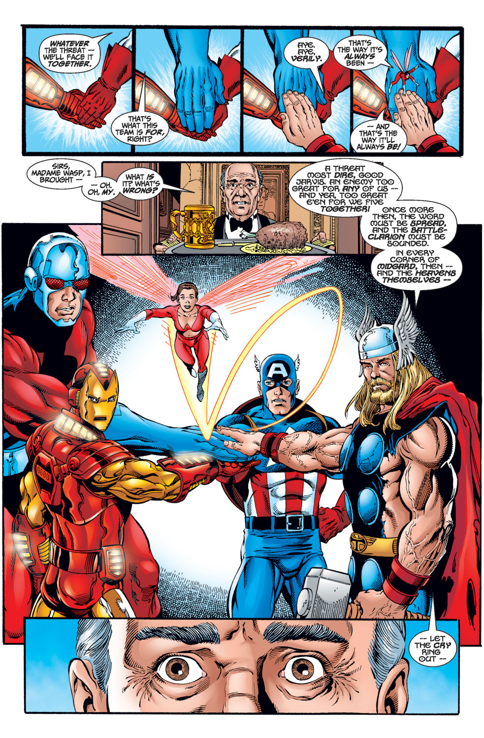 Read online Avengers (1998) comic -  Issue #1 - 14