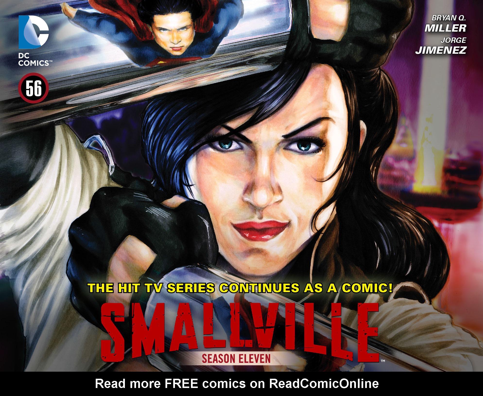Read online Smallville: Season 11 comic -  Issue #56 - 1