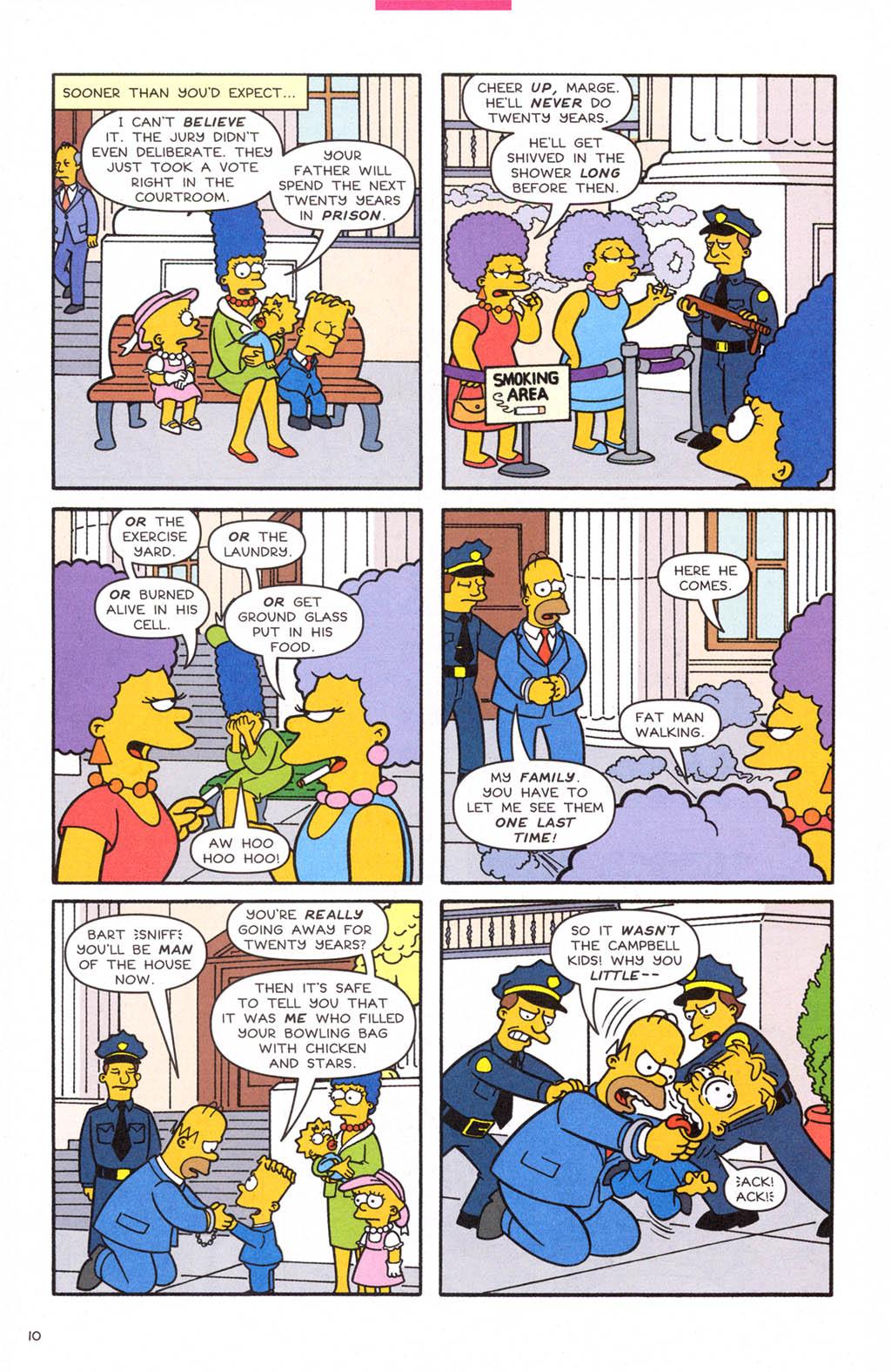 Read online Simpsons Comics comic -  Issue #108 - 11