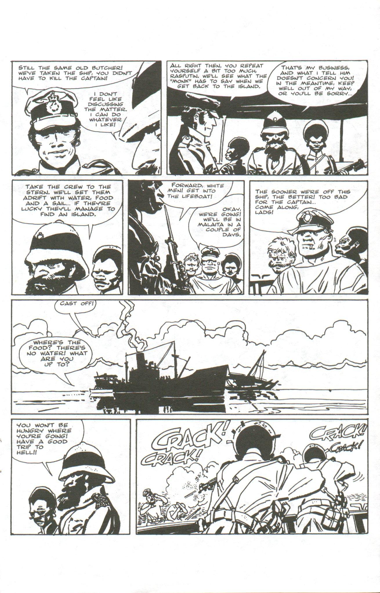Read online Corto Maltese: Ballad of the Salt Sea comic -  Issue #1 - 13