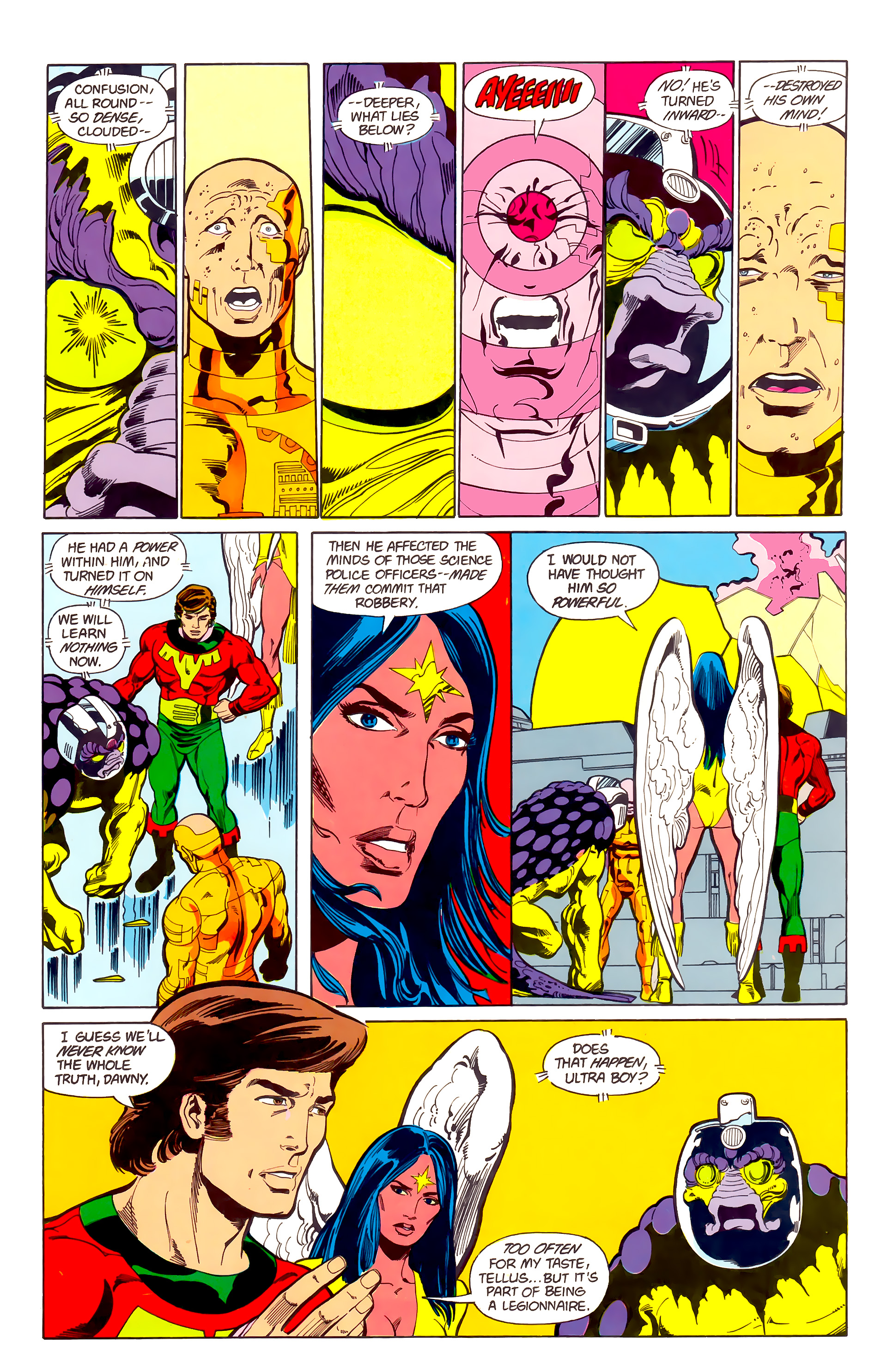 Legion of Super-Heroes (1984) 22 Page 27