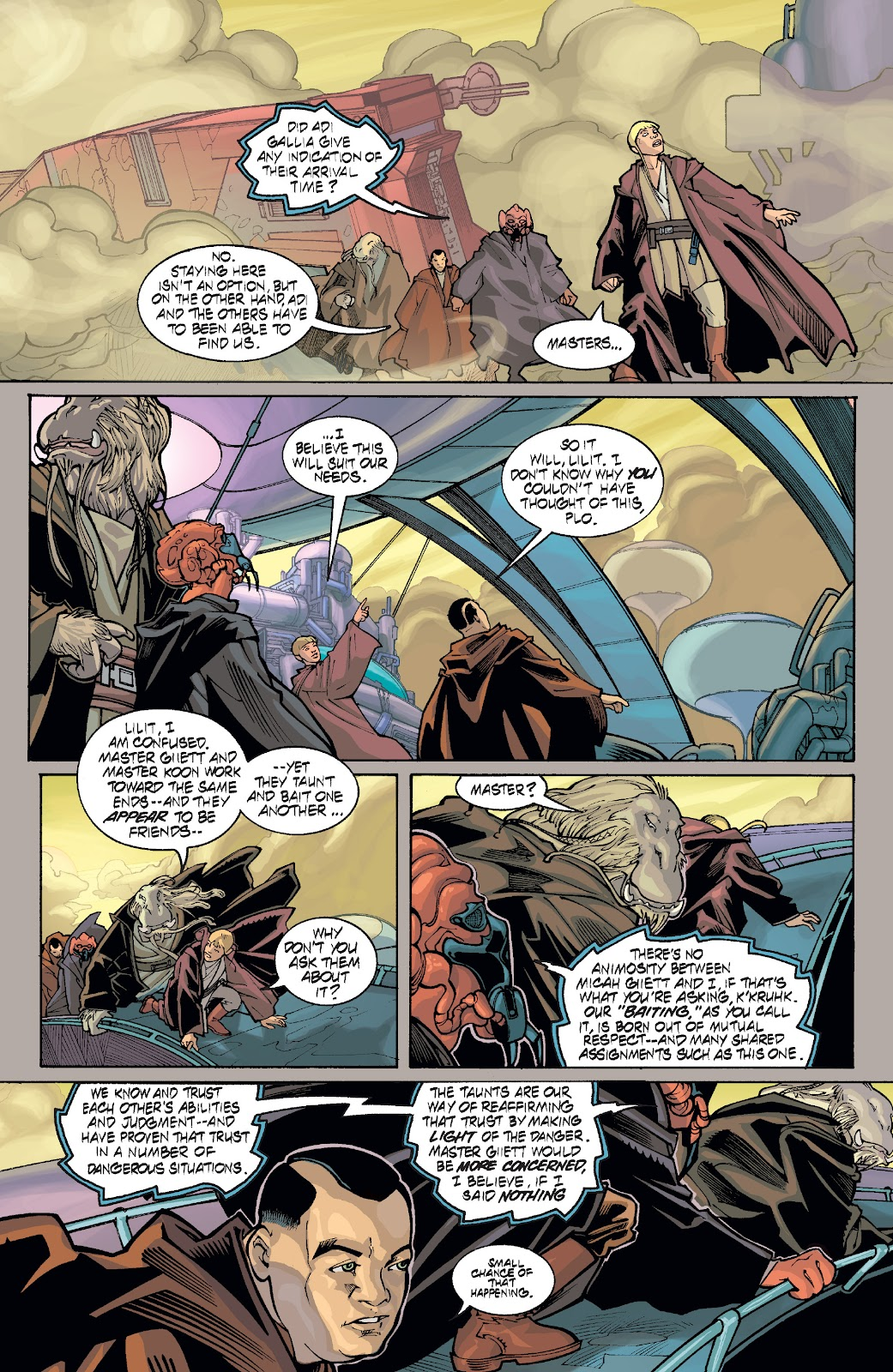 Read online Star Wars Legends: Rise of the Sith - Epic Collection comic -  Issue # TPB 1 (Part 5) - 7
