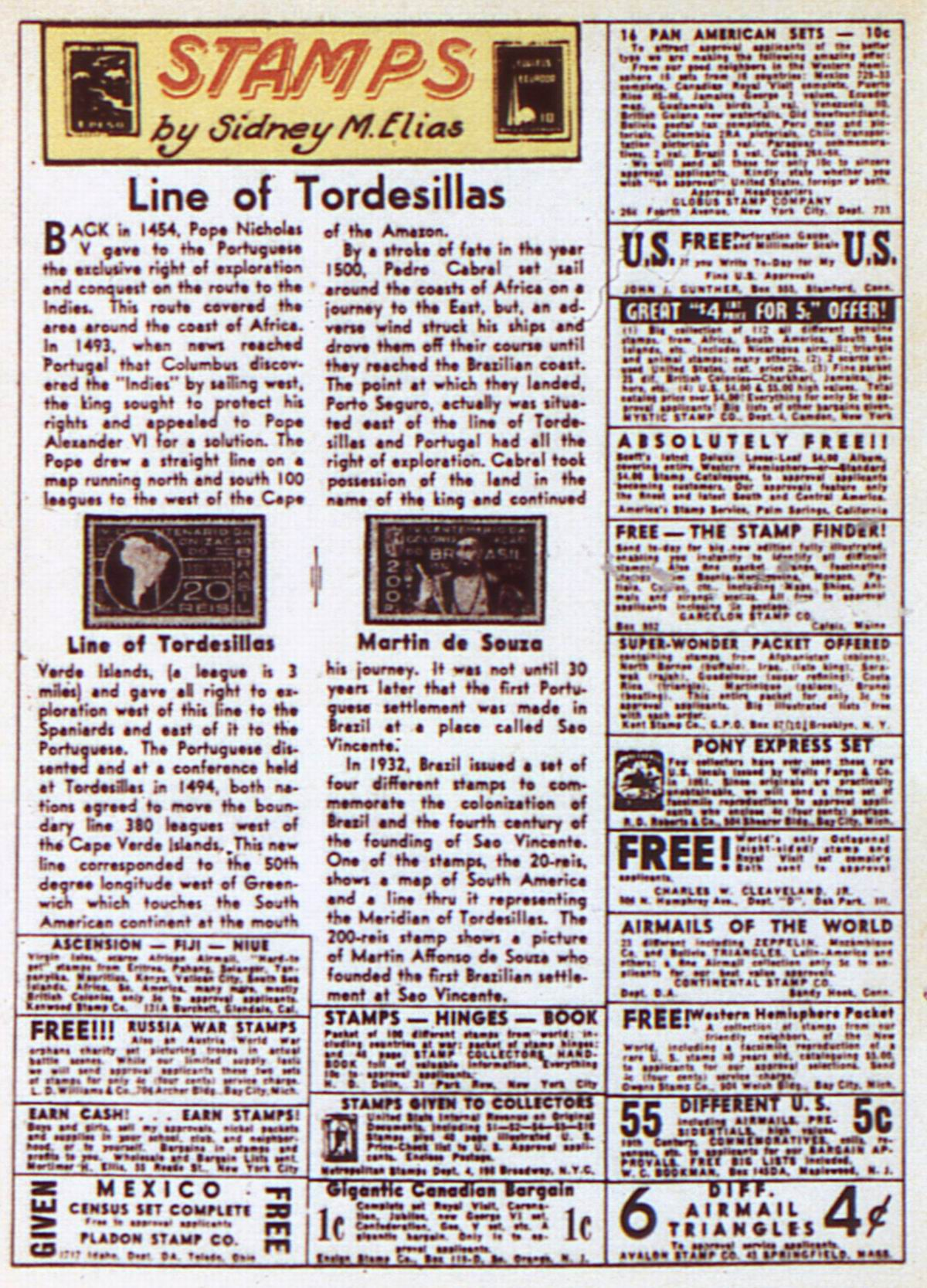 Read online Adventure Comics (1938) comic -  Issue #84 - 36
