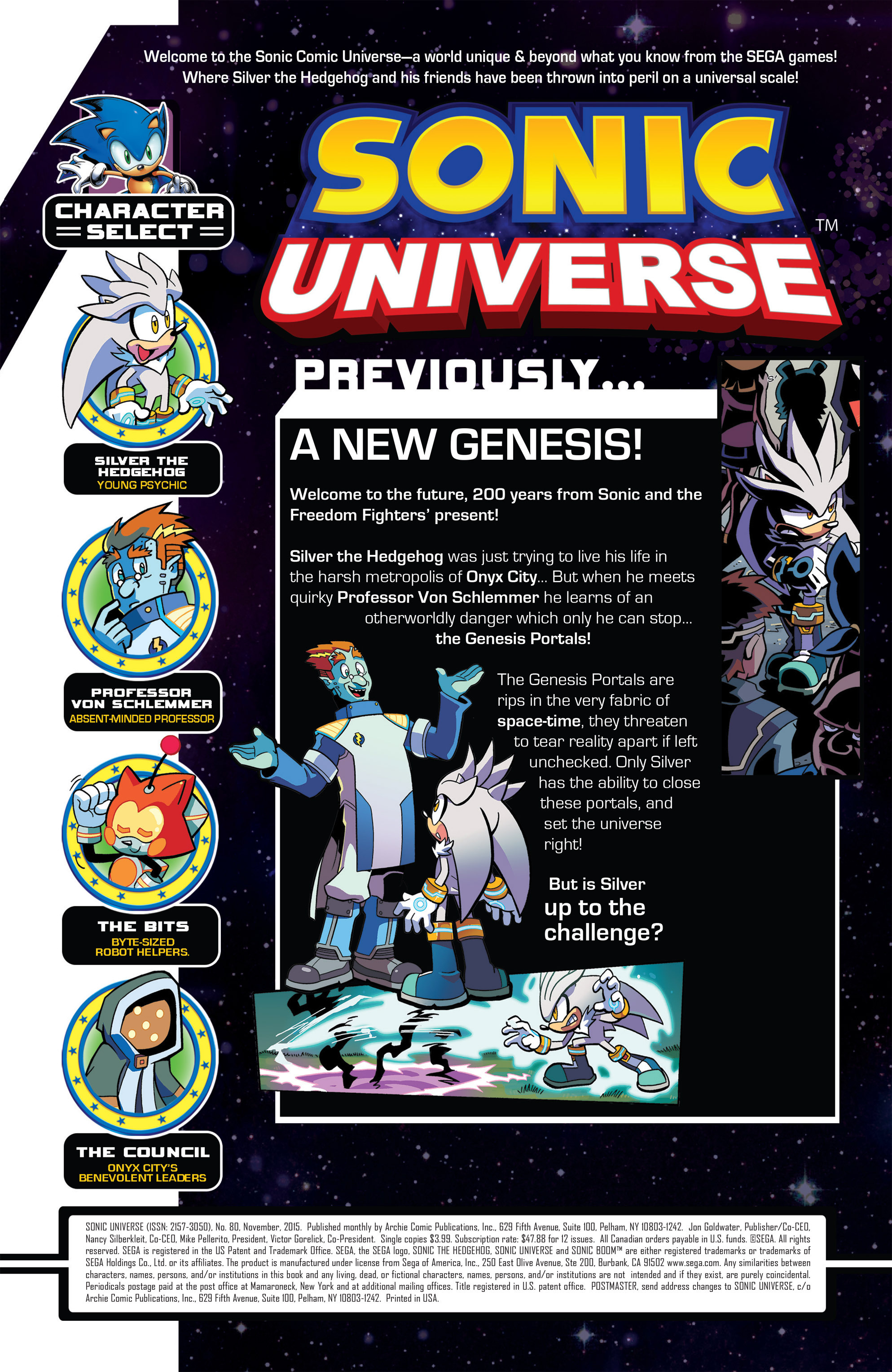 Read online Sonic Universe comic -  Issue #80 - 2
