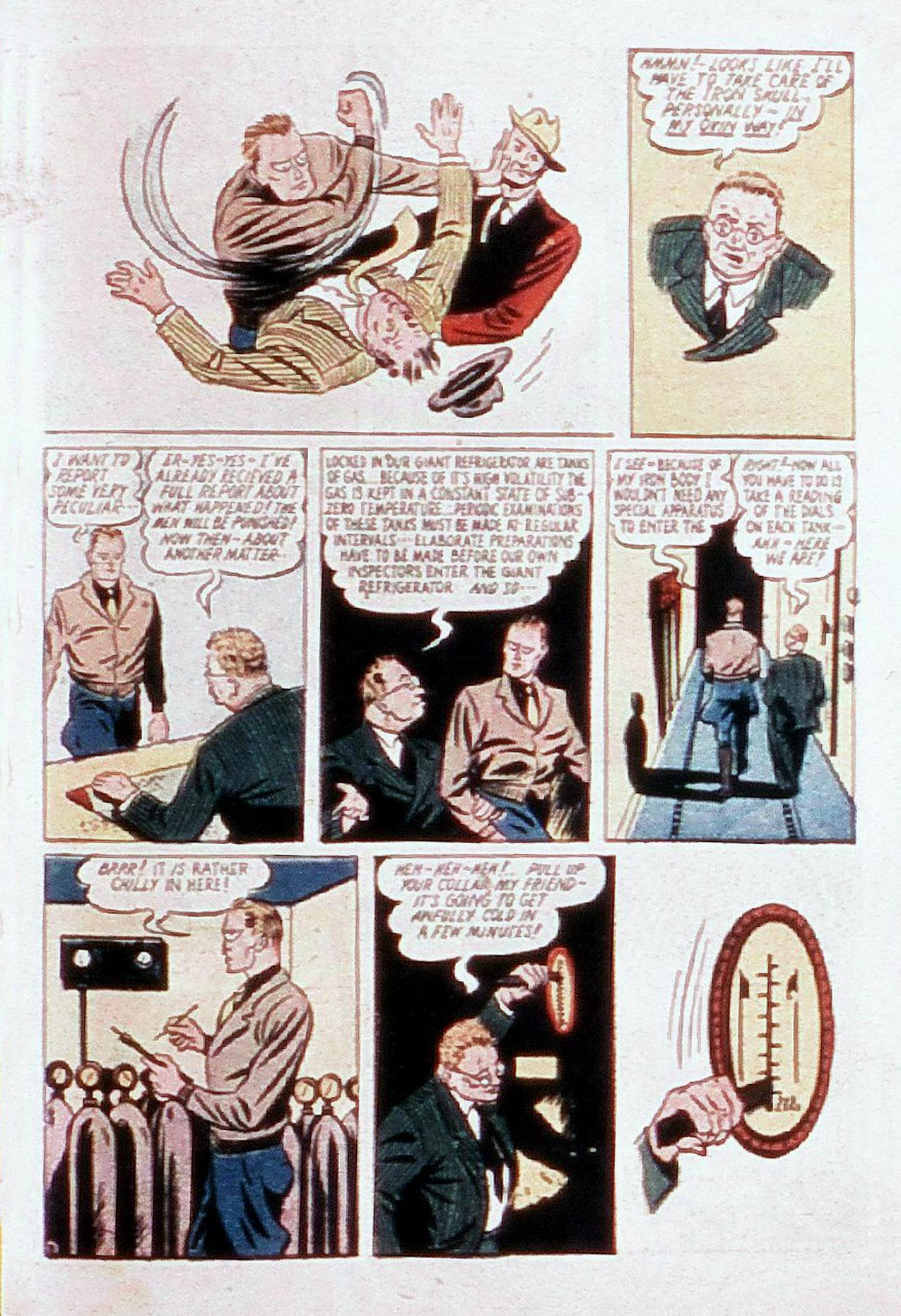 Read online Amazing Man Comics comic -  Issue #20 - 64