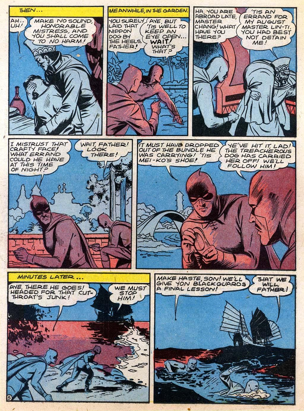 Read online Sensation (Mystery) Comics comic -  Issue #27 - 21