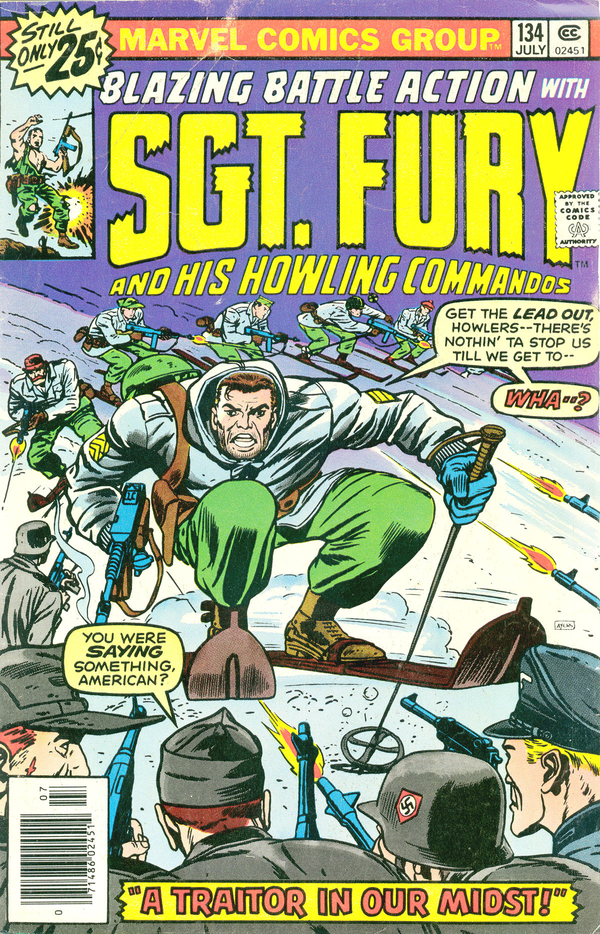 Sgt. Fury issue 134 - Page 1