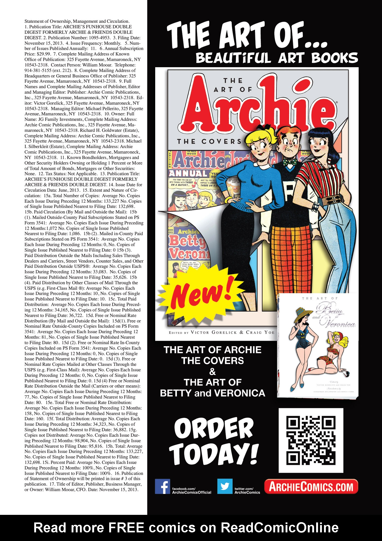 Read online Archie's Funhouse Double Digest comic -  Issue #3 - 148