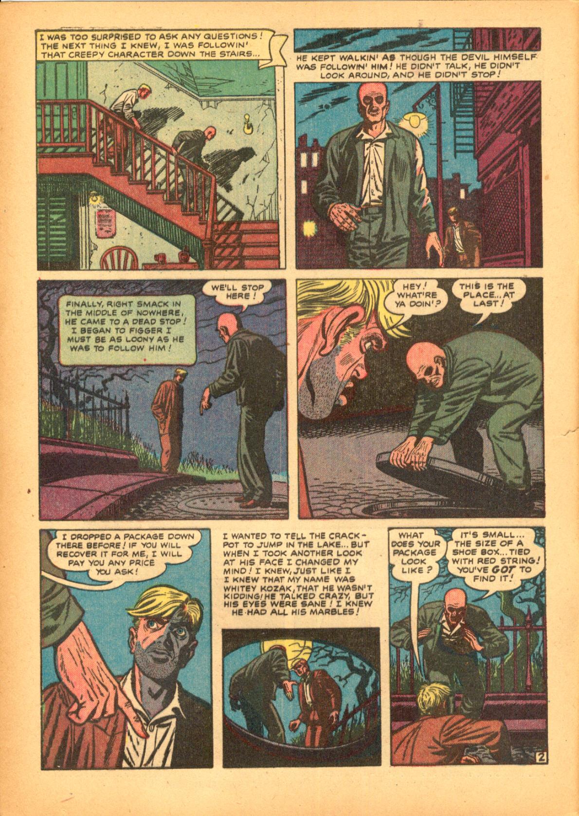 Read online Adventures into Weird Worlds comic -  Issue #3 - 4
