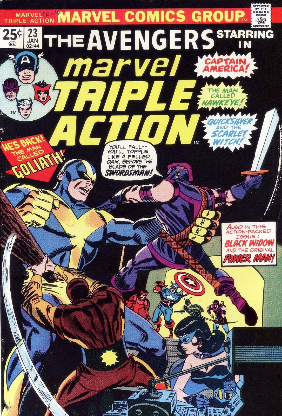 Marvel Triple Action (1972) issue 23 - Page 1