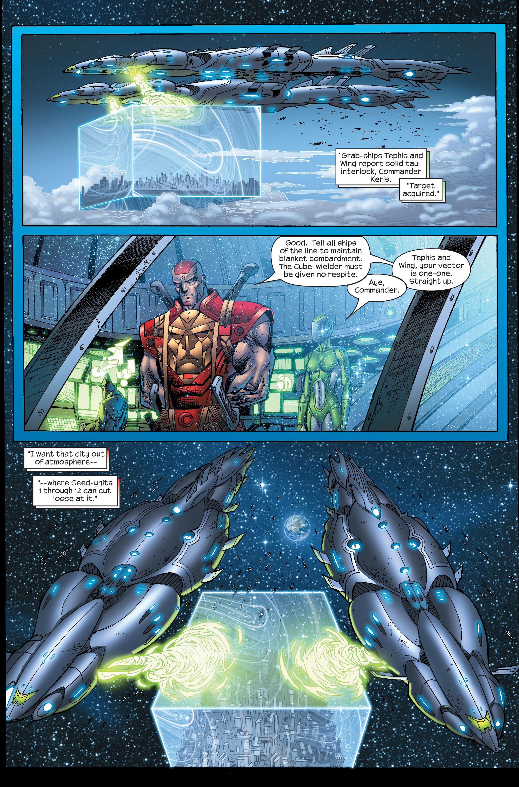 Read online Ultimate Fantastic Four (2004) comic -  Issue #51 - 3