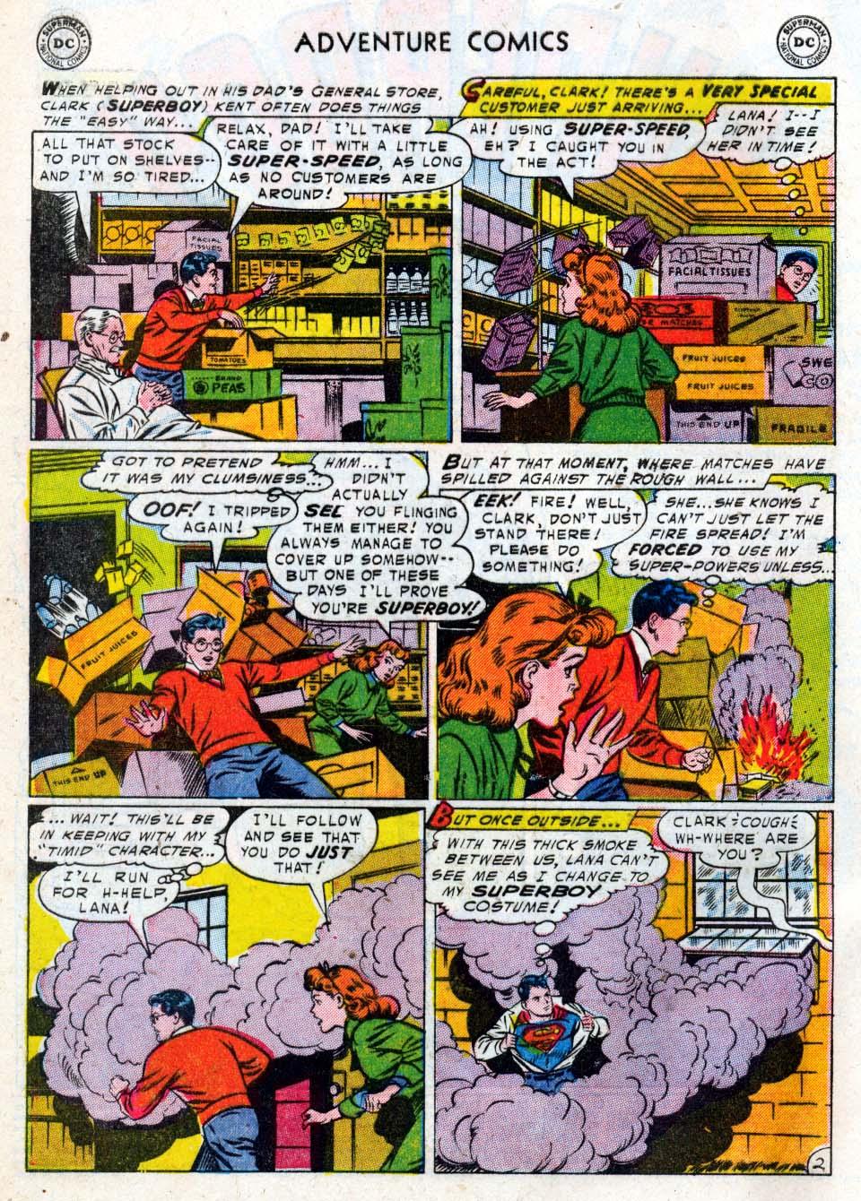 Read online Adventure Comics (1938) comic -  Issue #211 - 4