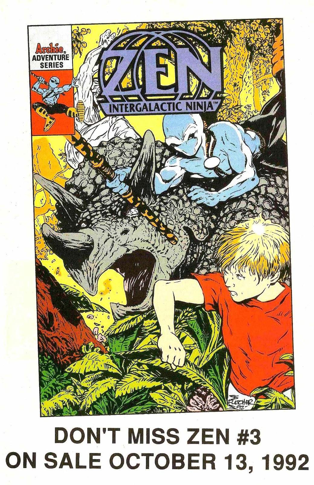 Read online Zen Intergalactic Ninja (1992) comic -  Issue #2 - 28