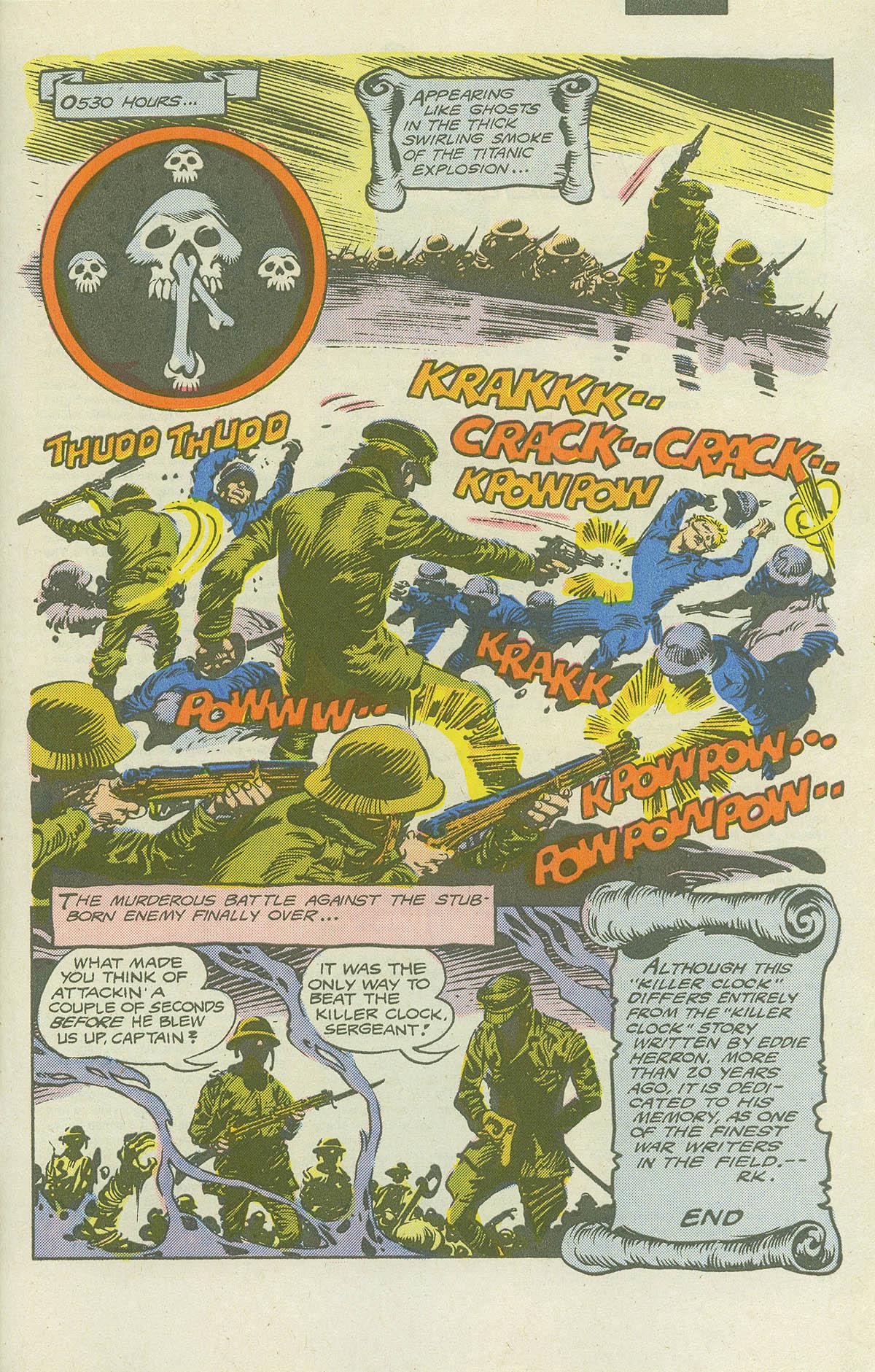 Read online Sgt. Rock comic -  Issue #415 - 30