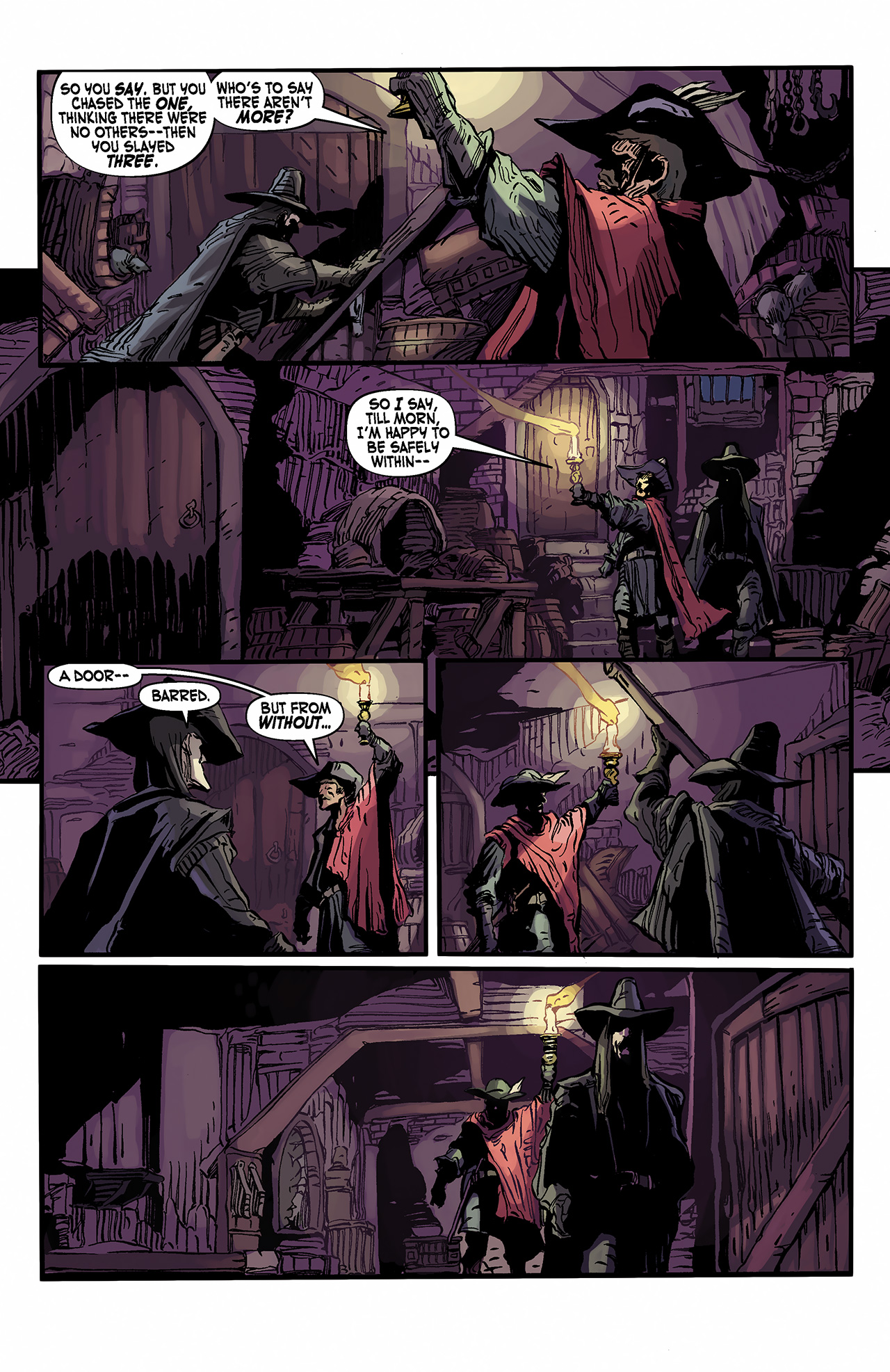 Read online Solomon Kane: Death's Black Riders comic -  Issue #2 - 12