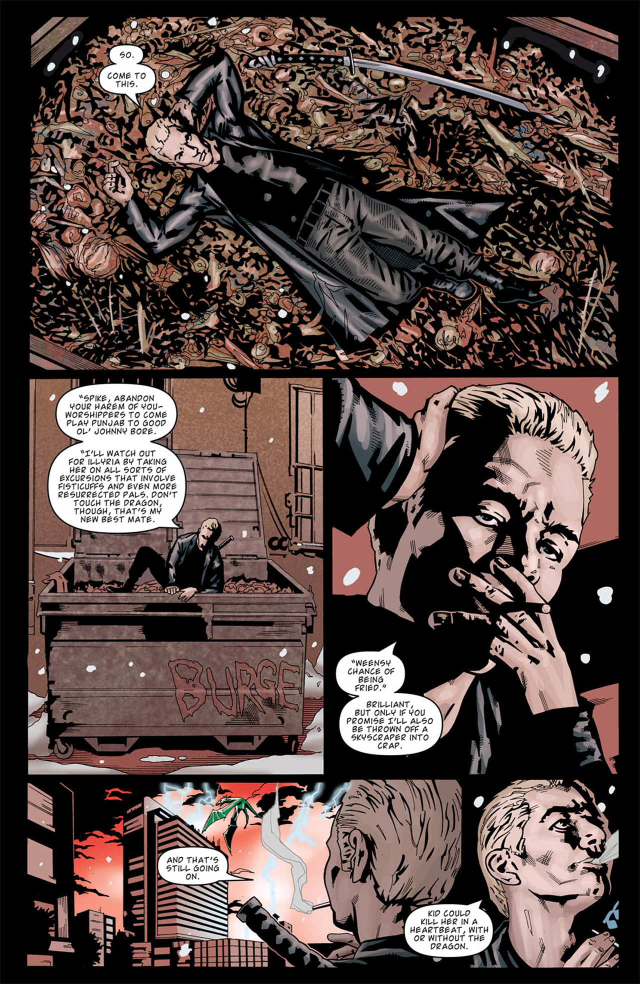 Read online Angel: After The Fall comic -  Issue #13 - 4