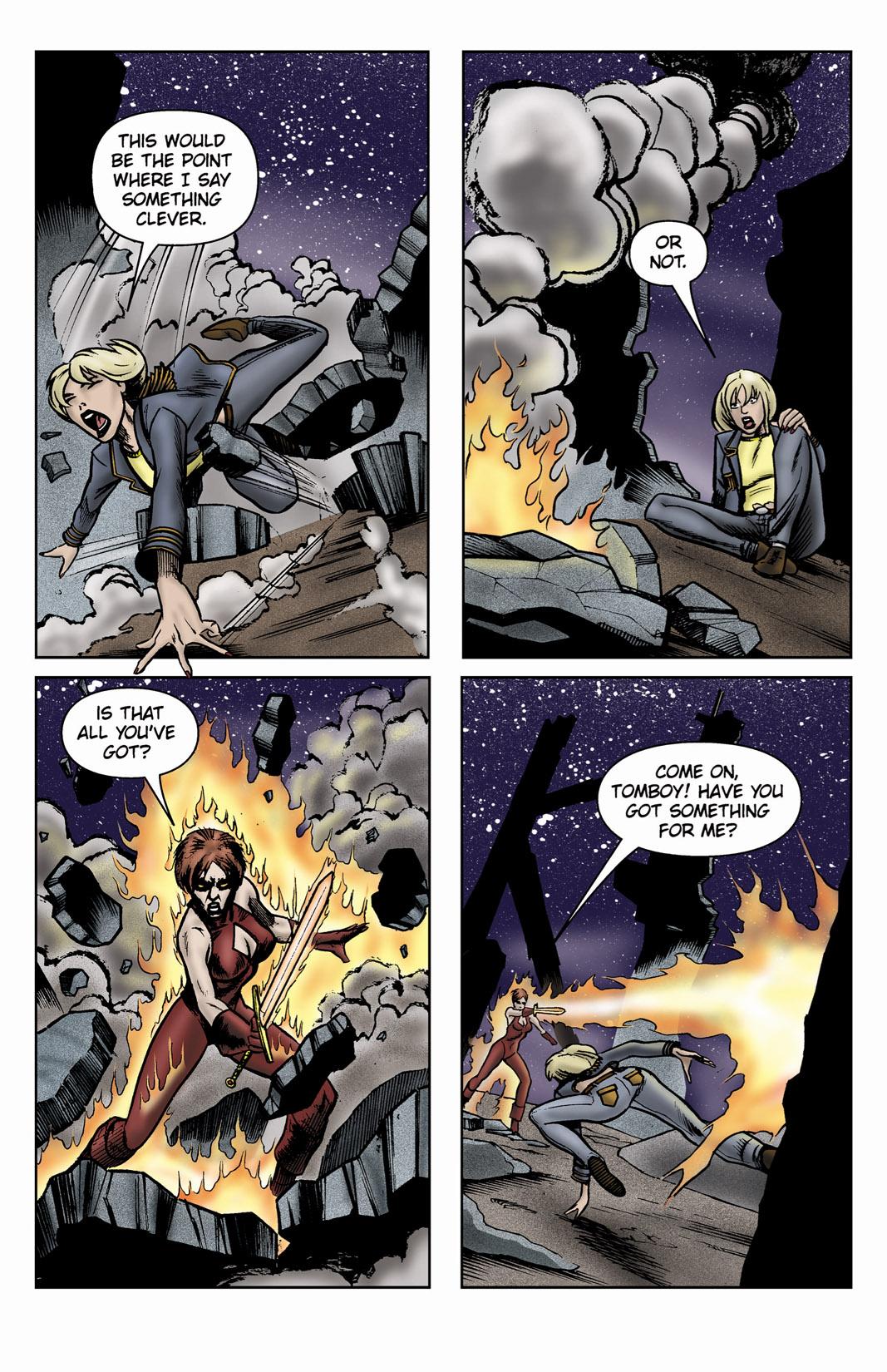 Read online SideChicks comic -  Issue #3 - 31