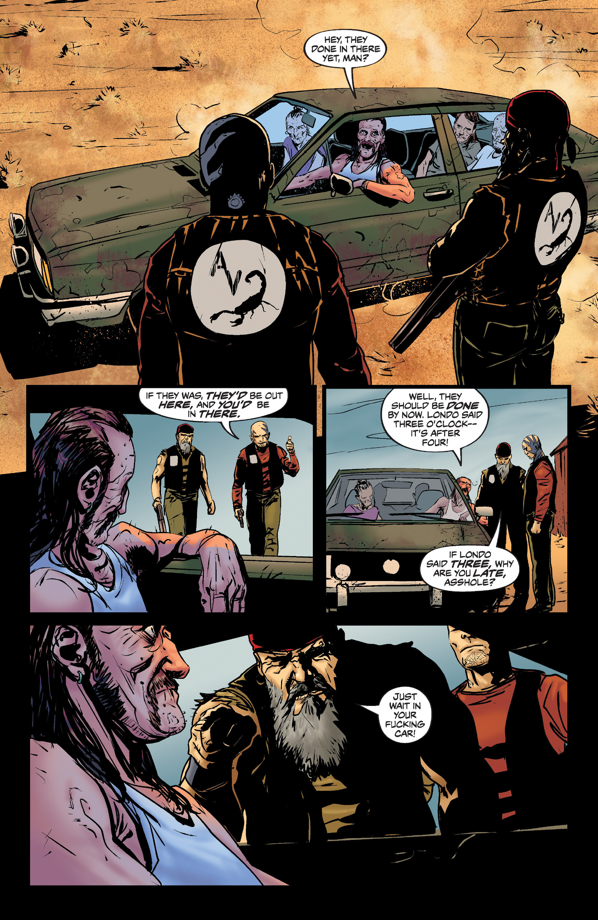 Read online Slayer: Repentless comic -  Issue #1 - 20